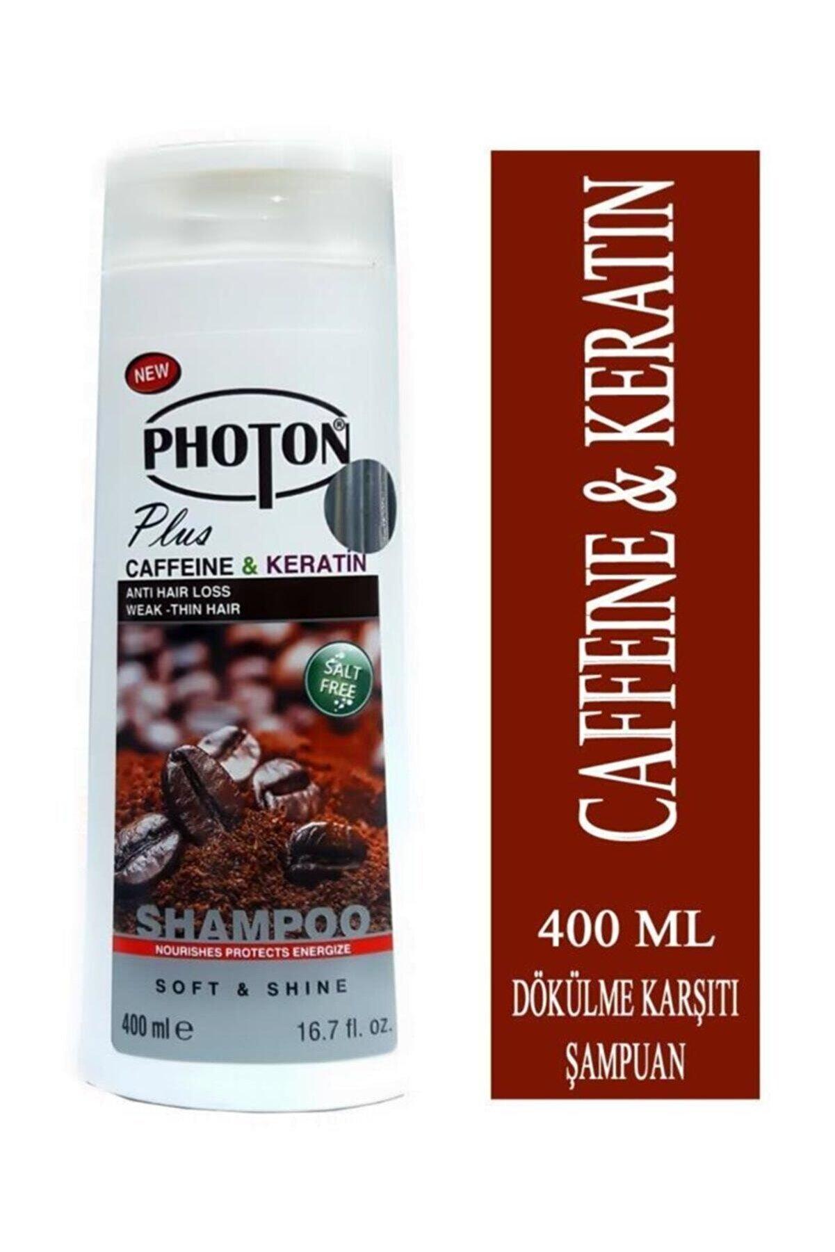 Photon Caffeine - Keratin Dökülme Karşıtı Şampuan 400 Ml Komple Onarıcı Bakım
