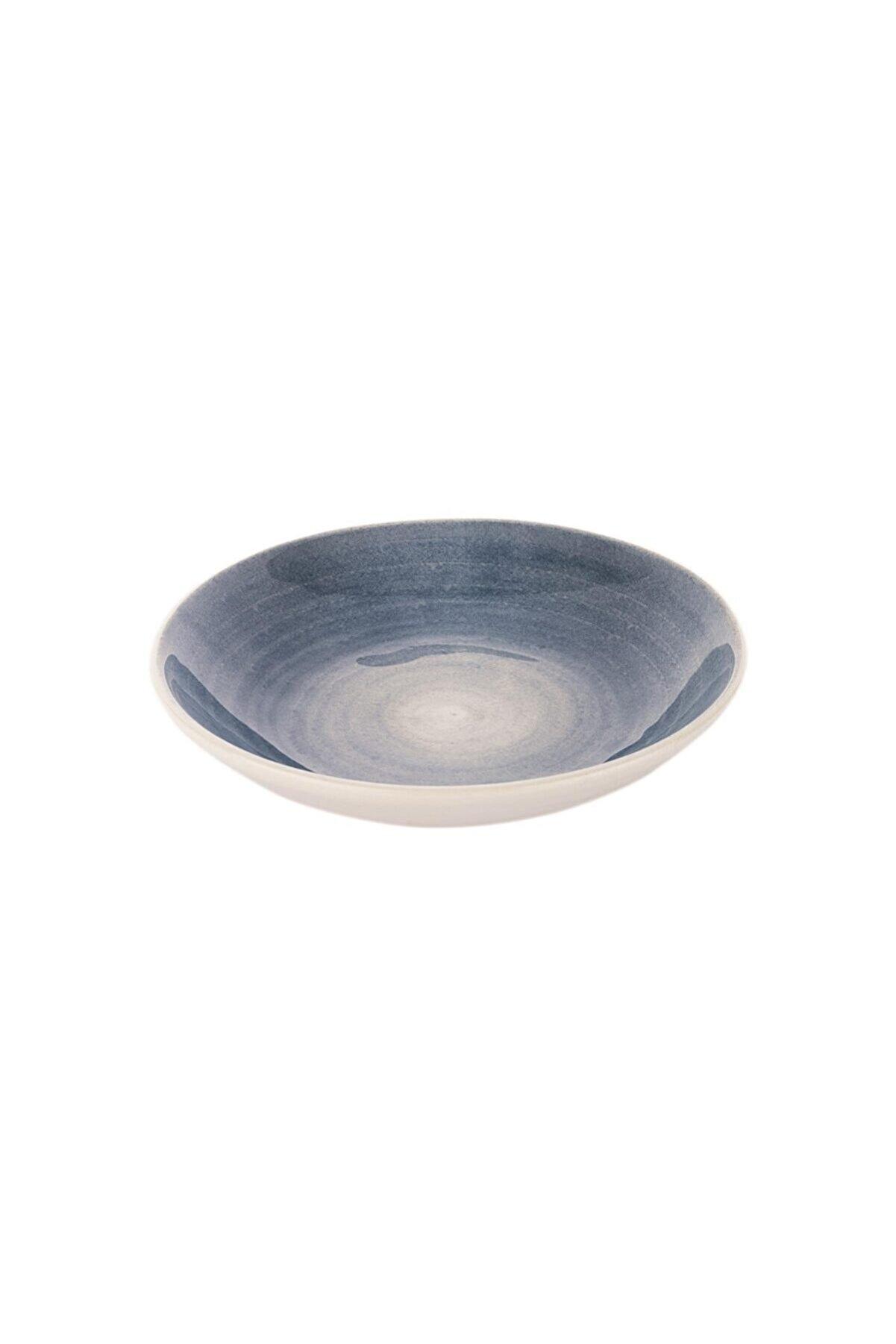 Schafer Wave Yemek Tabağı-ø22cm-1 Prç.-mavi