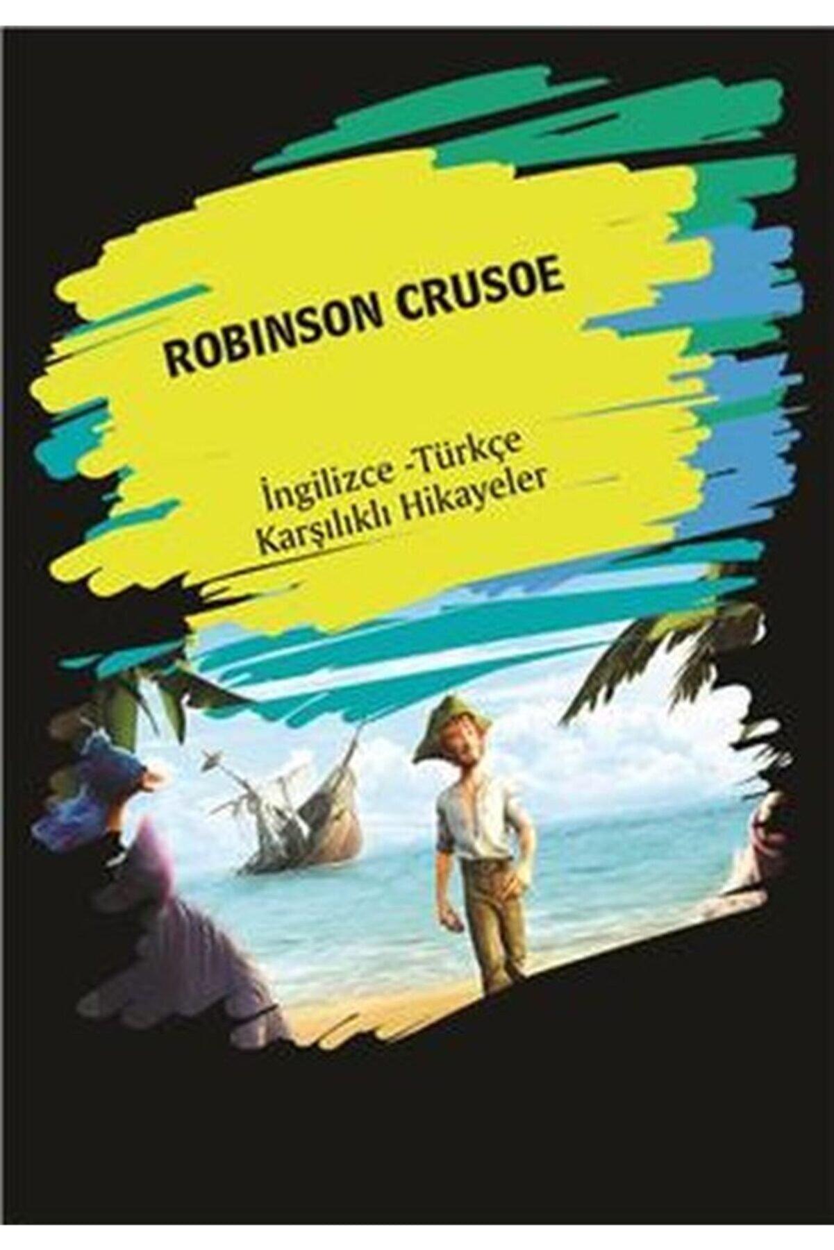 Dorlion Yayınevi Robinson Crusoe (ingilizce - Türkçe Karşılıklı Hikayeler)