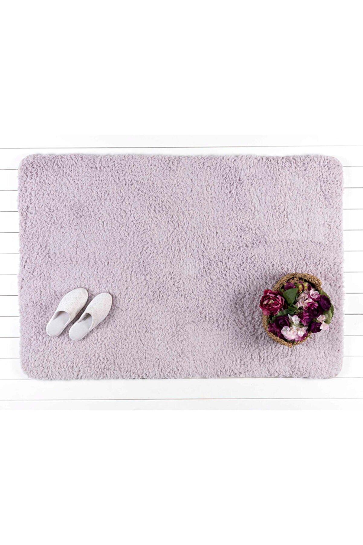 Madame Coco Sheep Banyo Paspası - Mürdüm - 100x150 Cm