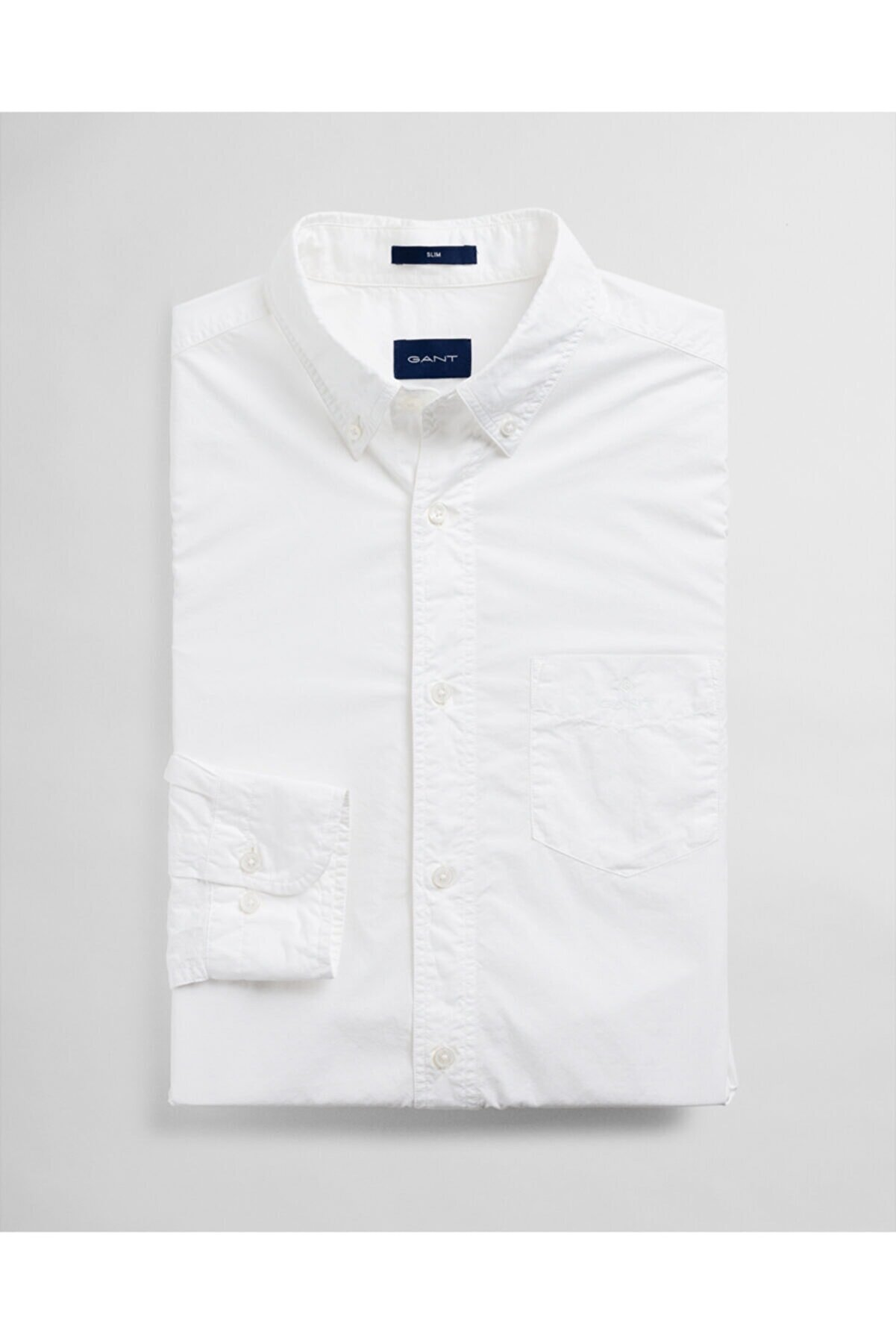 Gant Erkek Slim Fit Beyaz Slim Fit Gömlek 3024332