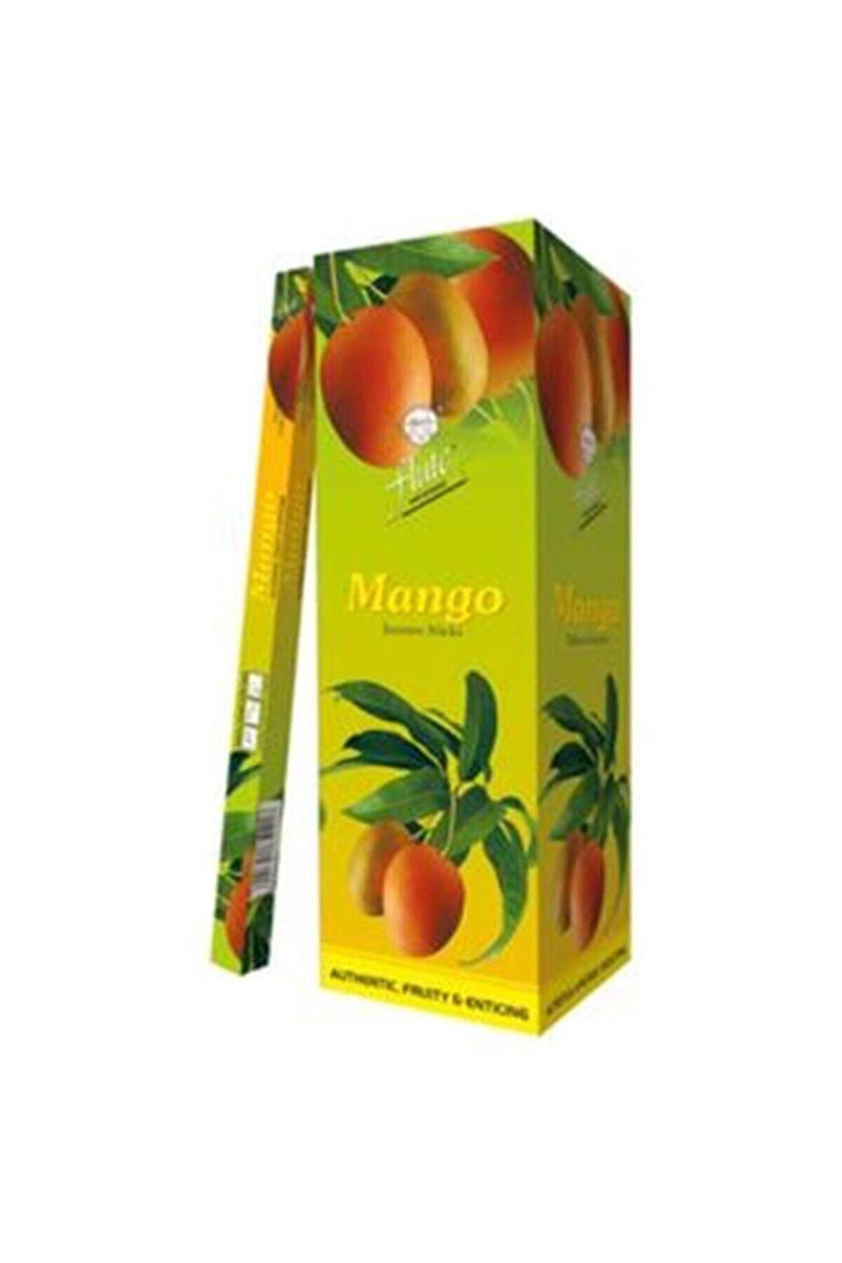 Sakız Ağacı Flute Tütsü Mango 20 Çubuk