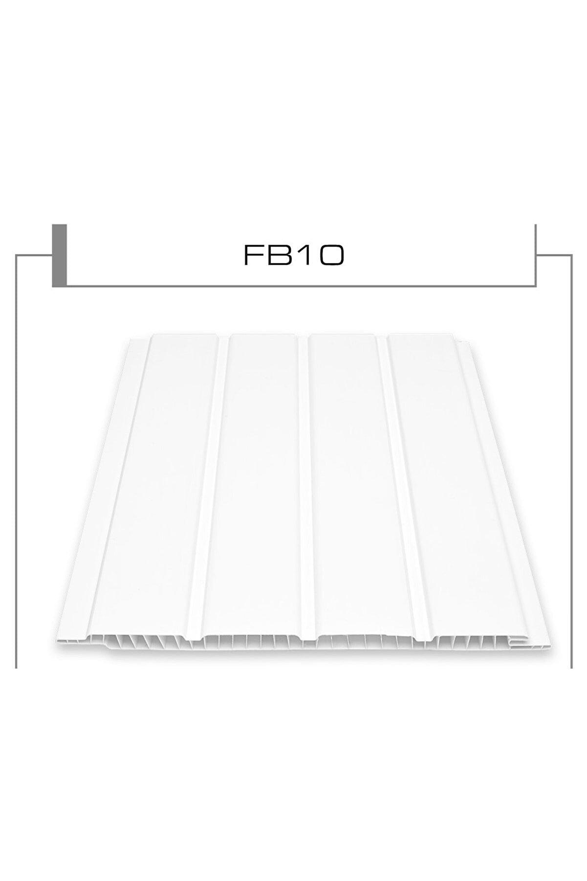 Flaş Group Pvc Plastik Tavanlık Plastik Tavan Ve Duvar Lambri Fugalı Beyaz Lambri 150cm