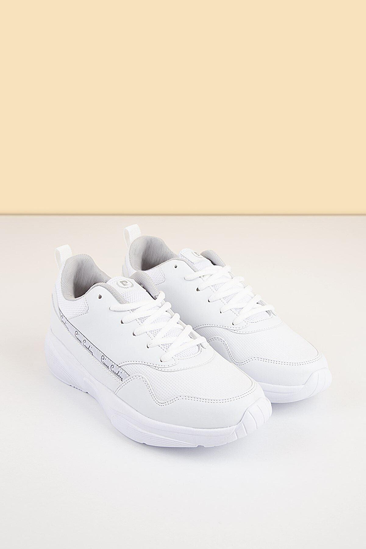 Pierre Cardin PC-30478 Beyaz Kadın Spor Ayakkabı
