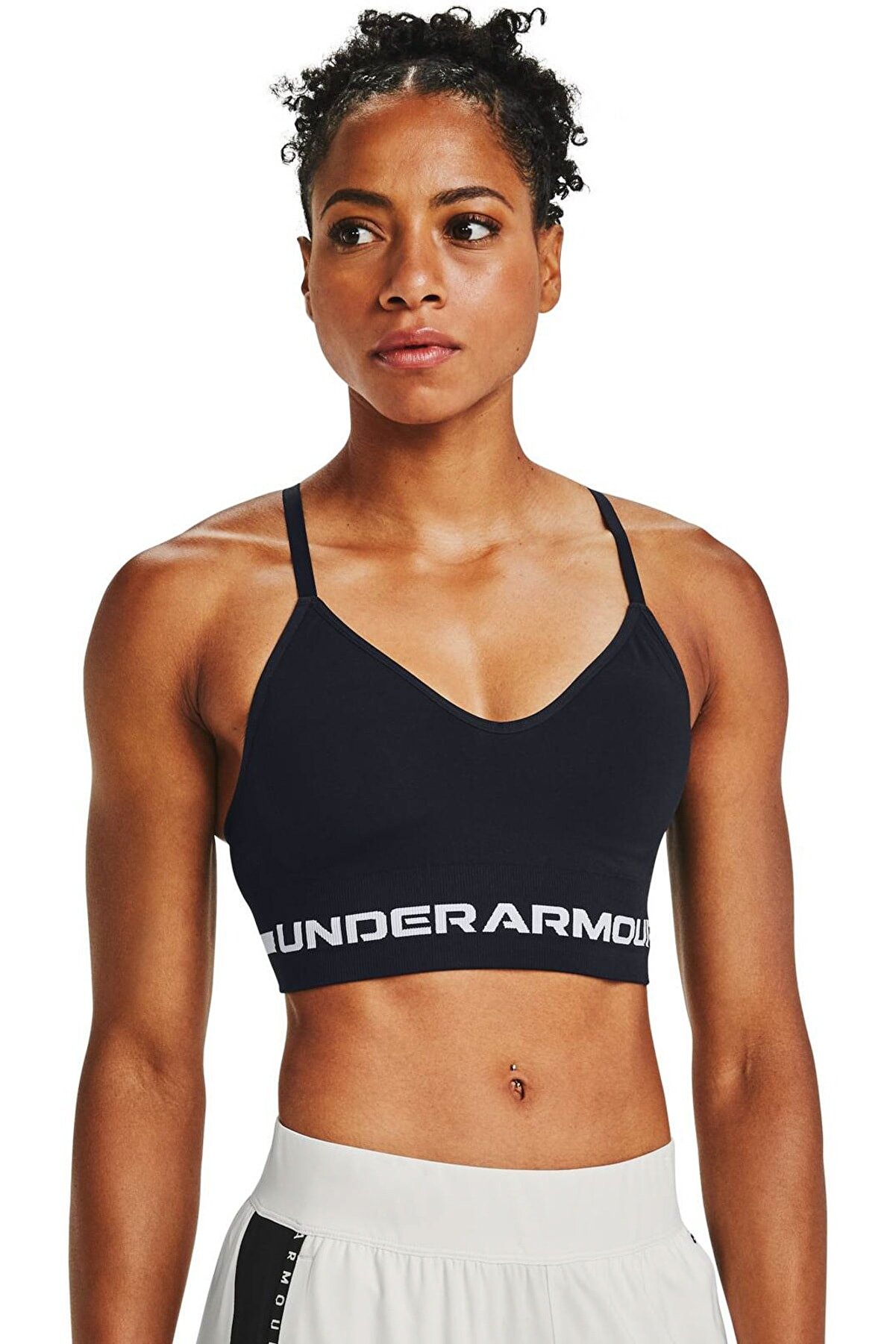 Under Armour Kadın Spor Sütyeni - Ua Seamless Low Long Bra - 1357719-001