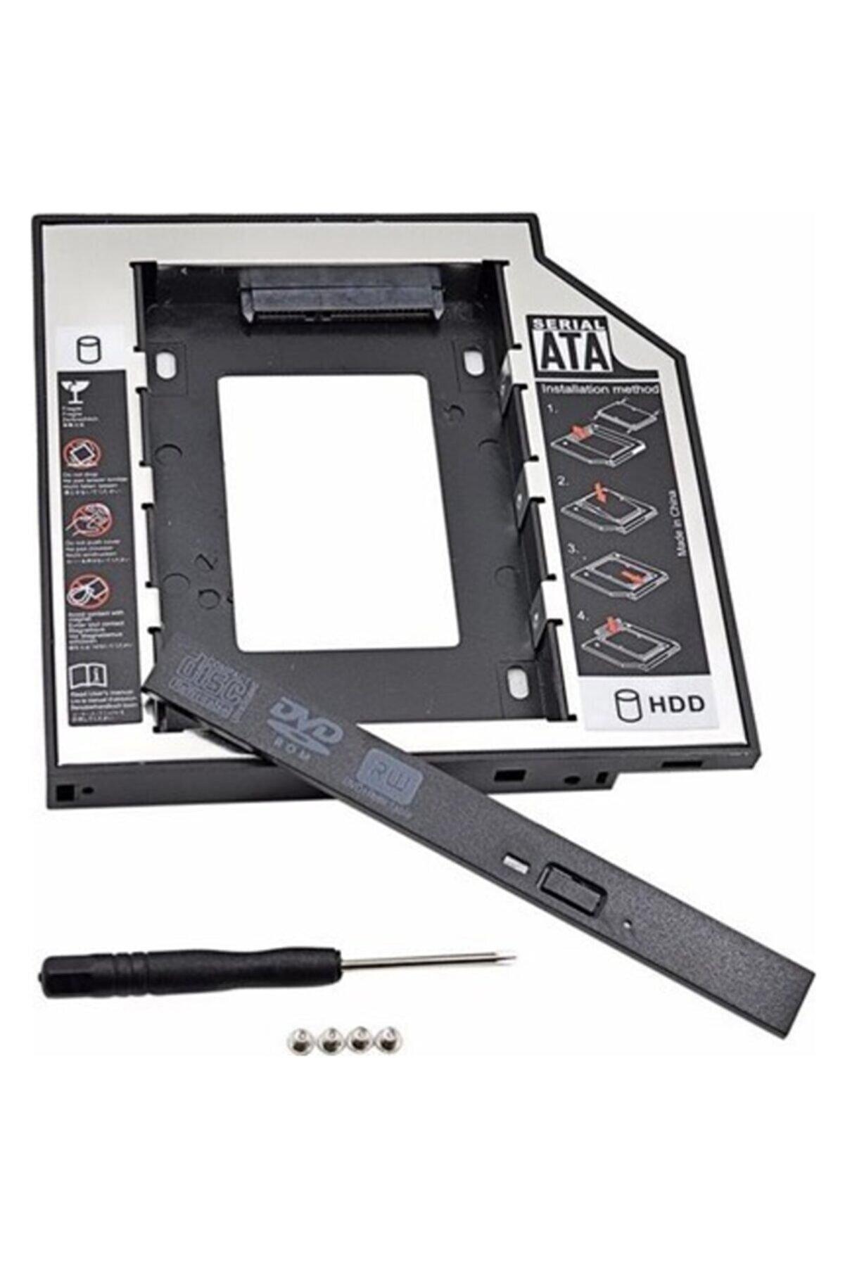 Notespare 12.7mm Hdd Caddy Kızak Laptop Dvd To Ssd Kutu Sata 4717p