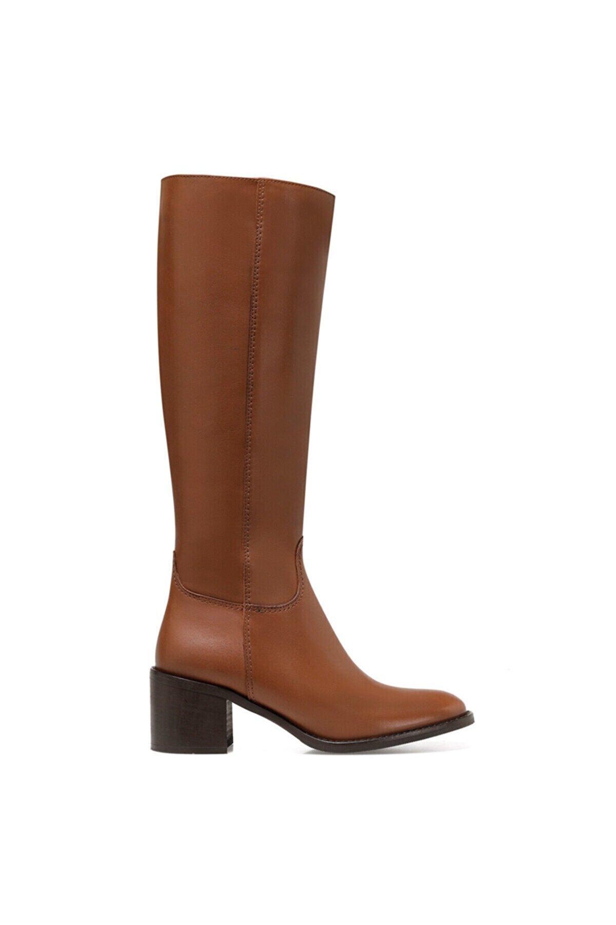 Nine West MITTA Taba Kadın Ökçeli Çizme 100582044