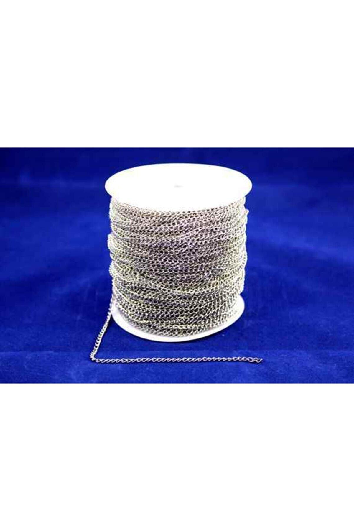 Ertürk Metal Aksesuar 0.60 Mm Free Nikel Sac Kıvrık Zincir 10 Metre