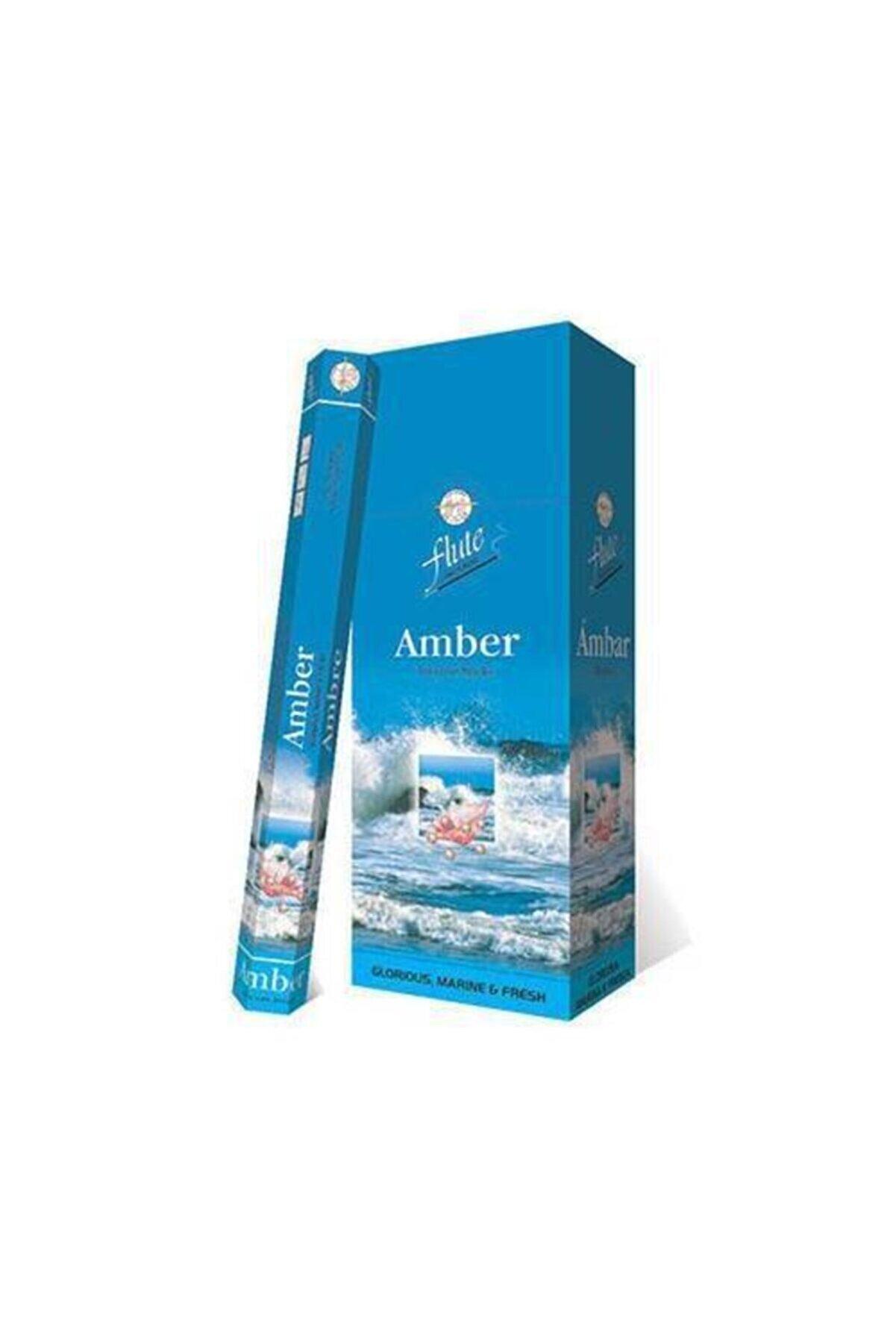 Sakız Ağacı Flute Tütsü Amber 20 Çubuk