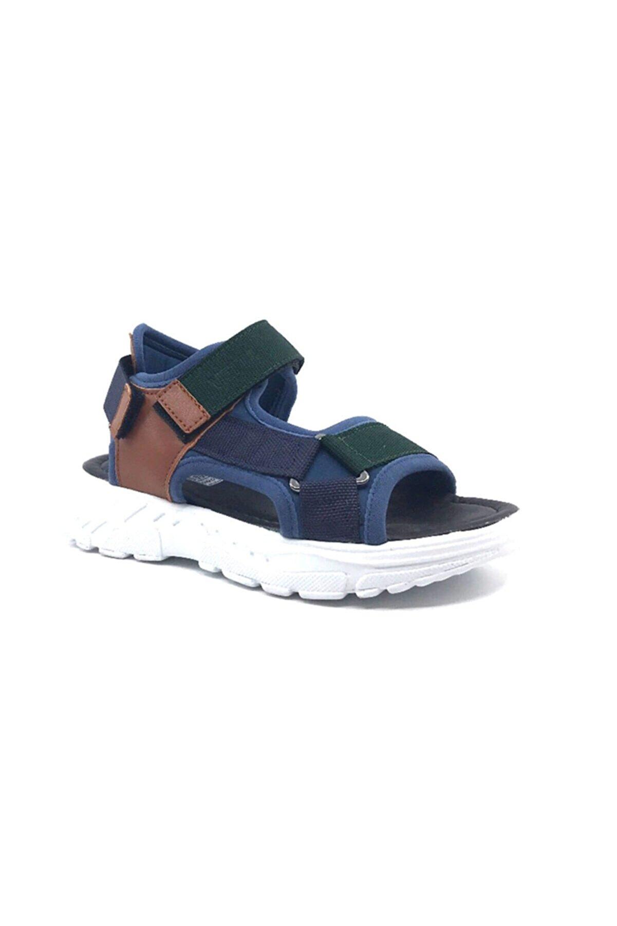 VETTA Erkek Çocuk Yazlık Spor Sandalet Lacivert-Yeşil