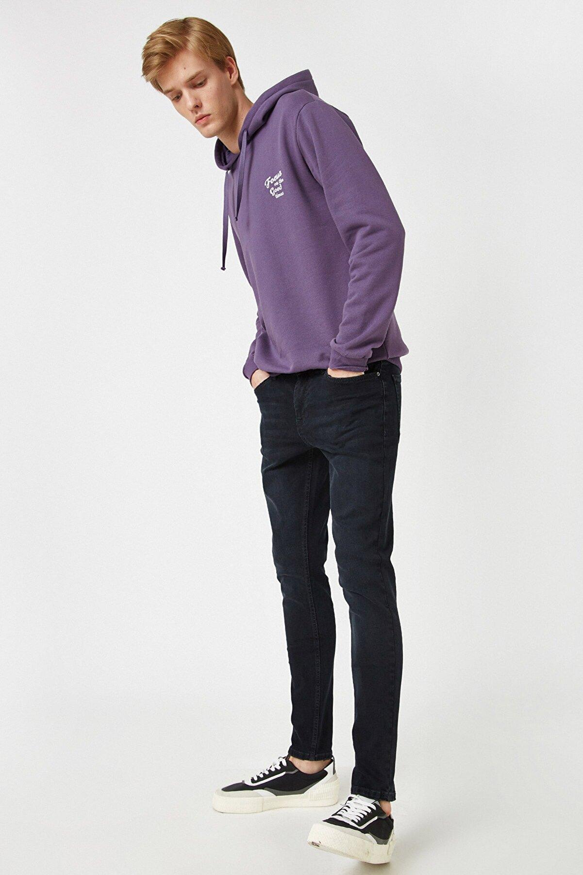 Koton Erkek Indıgo Jeans 1KAM43234MD