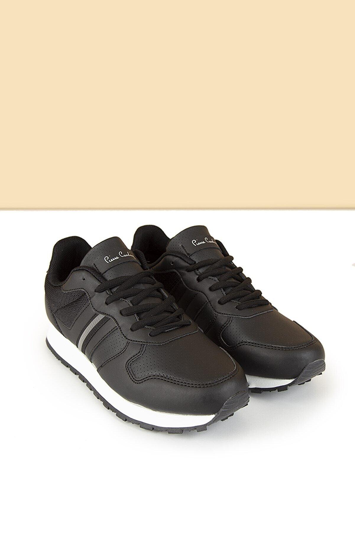 Pierre Cardin Pc-30477 Siyah-beyaz Kadın Spor Ayakkabı