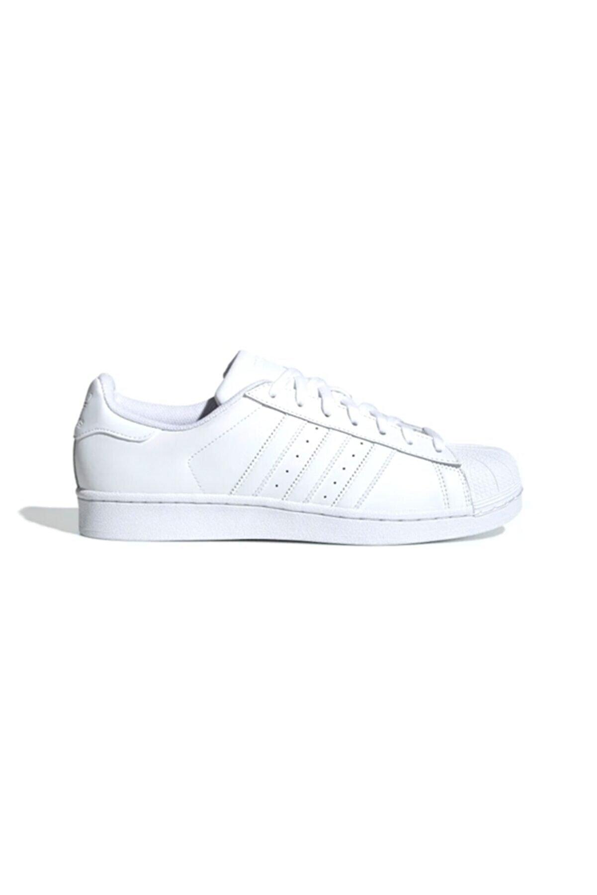 adidas Kadın Beyaz Superstar Foundation Günlük Ayakkabı