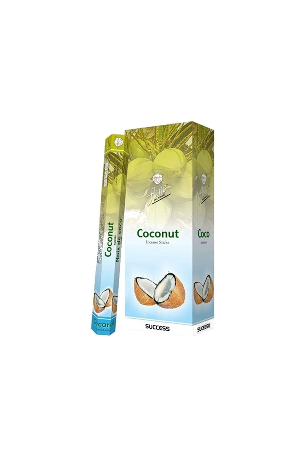 Sakız Ağacı Flute Tütsü Coconut 20 Çubuk