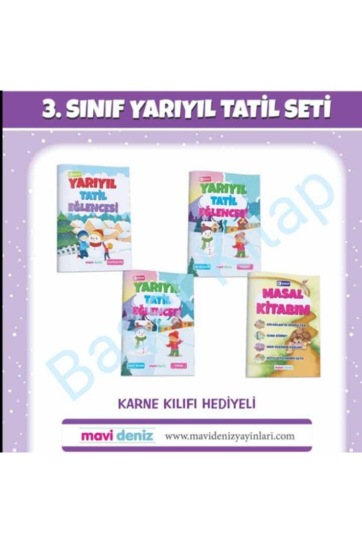Mavi Deniz Yayınları Mavi Deniz 3.sınıf Yarıyıl Tatil Seti