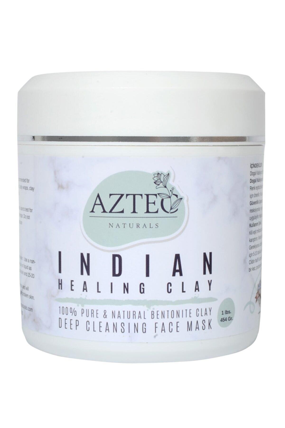 Aztec Naturals Kil Maskesi Indian Healing Clay Yüz Maskesi 454 Gr.