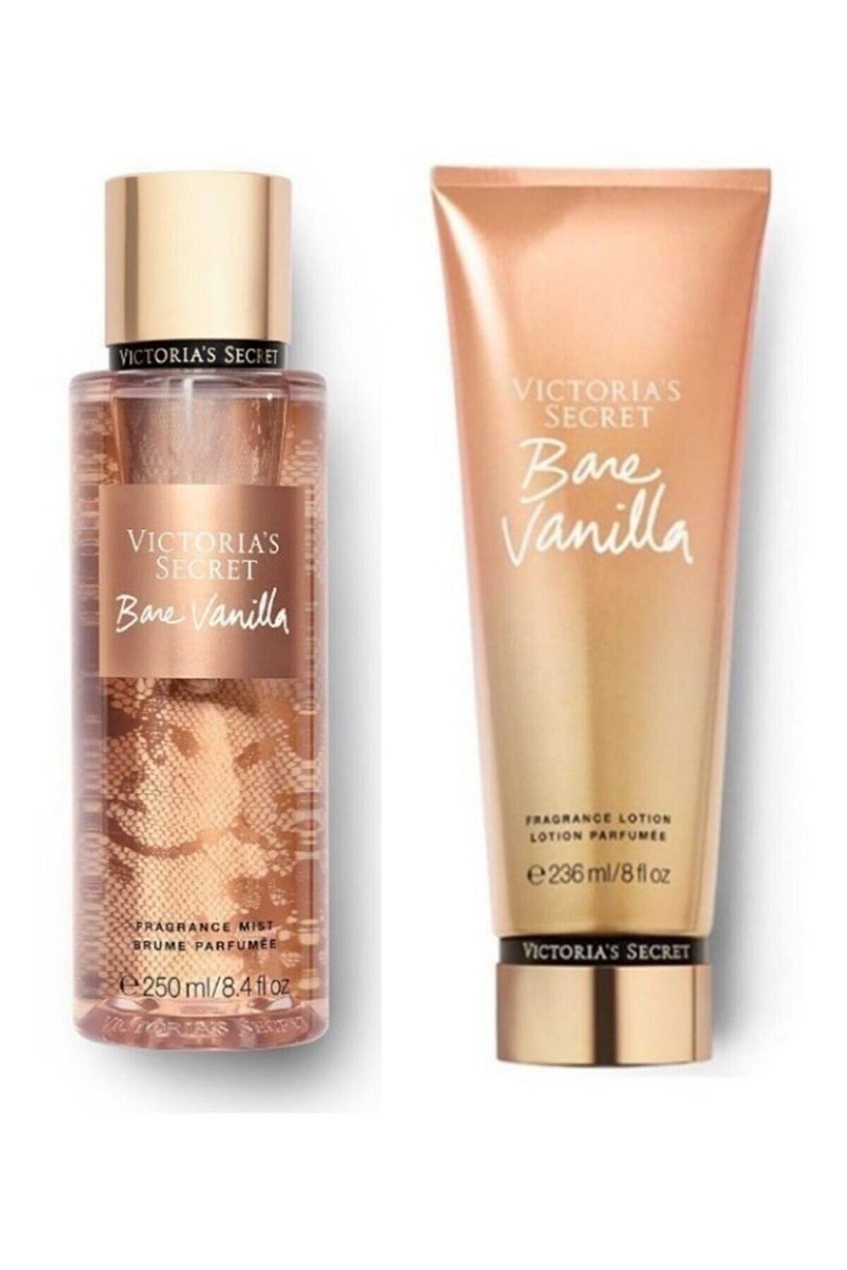 Victoria's Secret Bare Vanilla New Collection Vücut Sprey,vücut Losyonu 2 Li Set