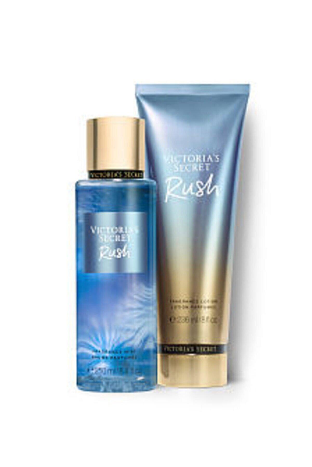 Victoria's Secret Rush New Collection Vücut Spreyi,vücut Losyonu 2 Li Set