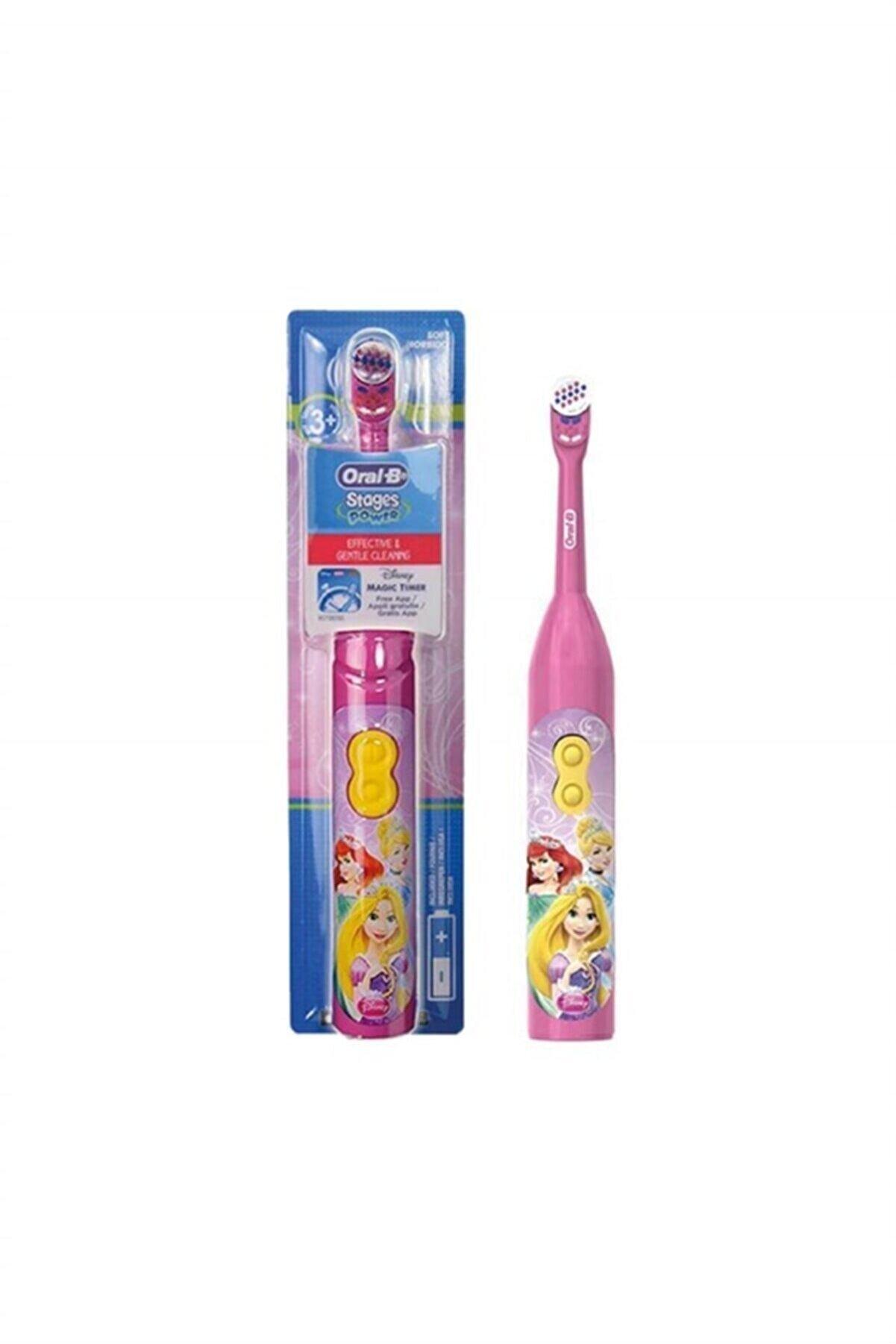 Oral-B Stages Power Çocuk Pilli Diş Fırçası Frozen Princess 3+ Ay