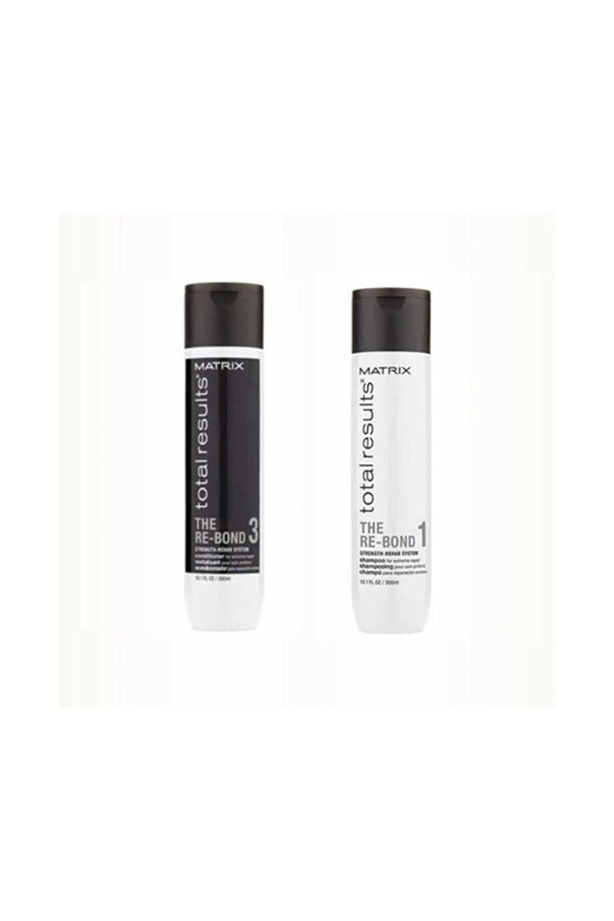 Matrix Total Re-bond Şampuan 300 Ml+ Saç Kremi 300 Ml