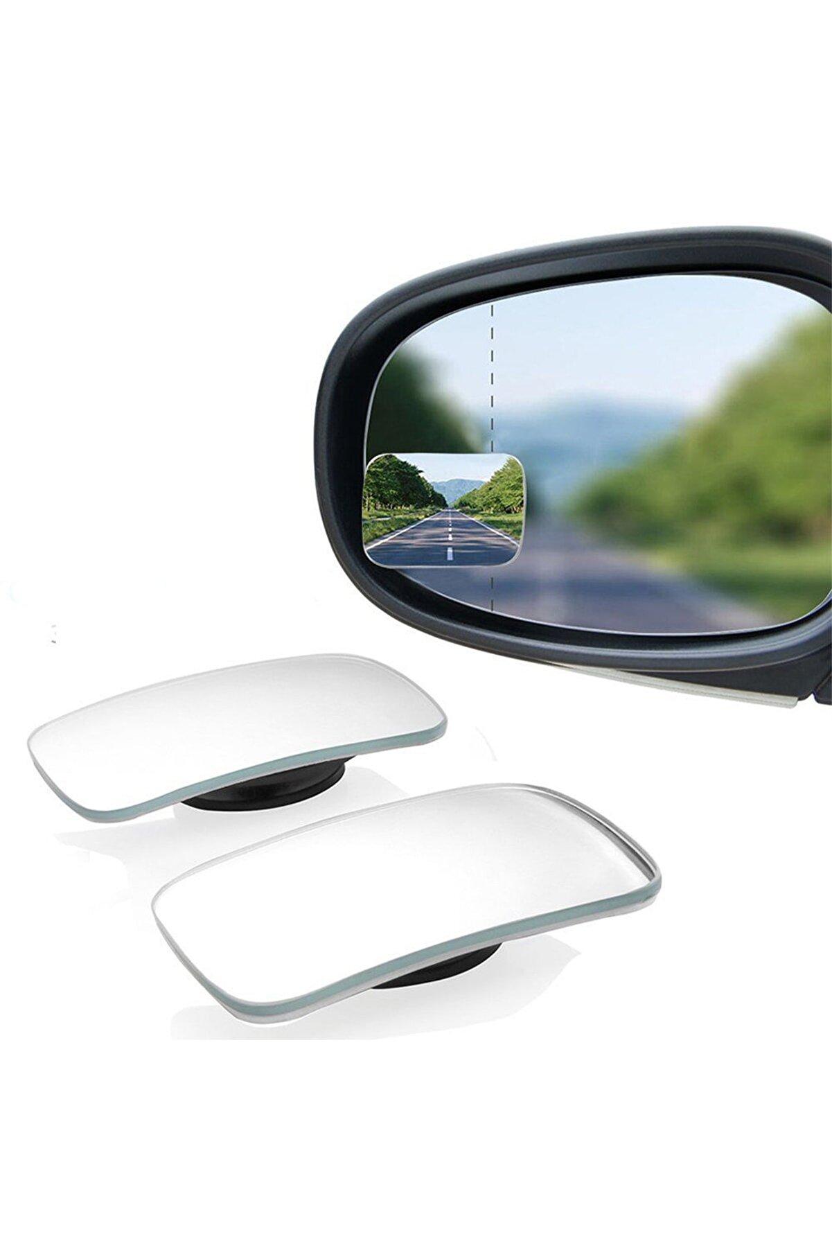 GD 24 Oto Kör Nokta Aynası Gerçek Ayna 70mm X40 Mm Oynar 2 Adet Yüksek Kalite Ve Şık Tasarım