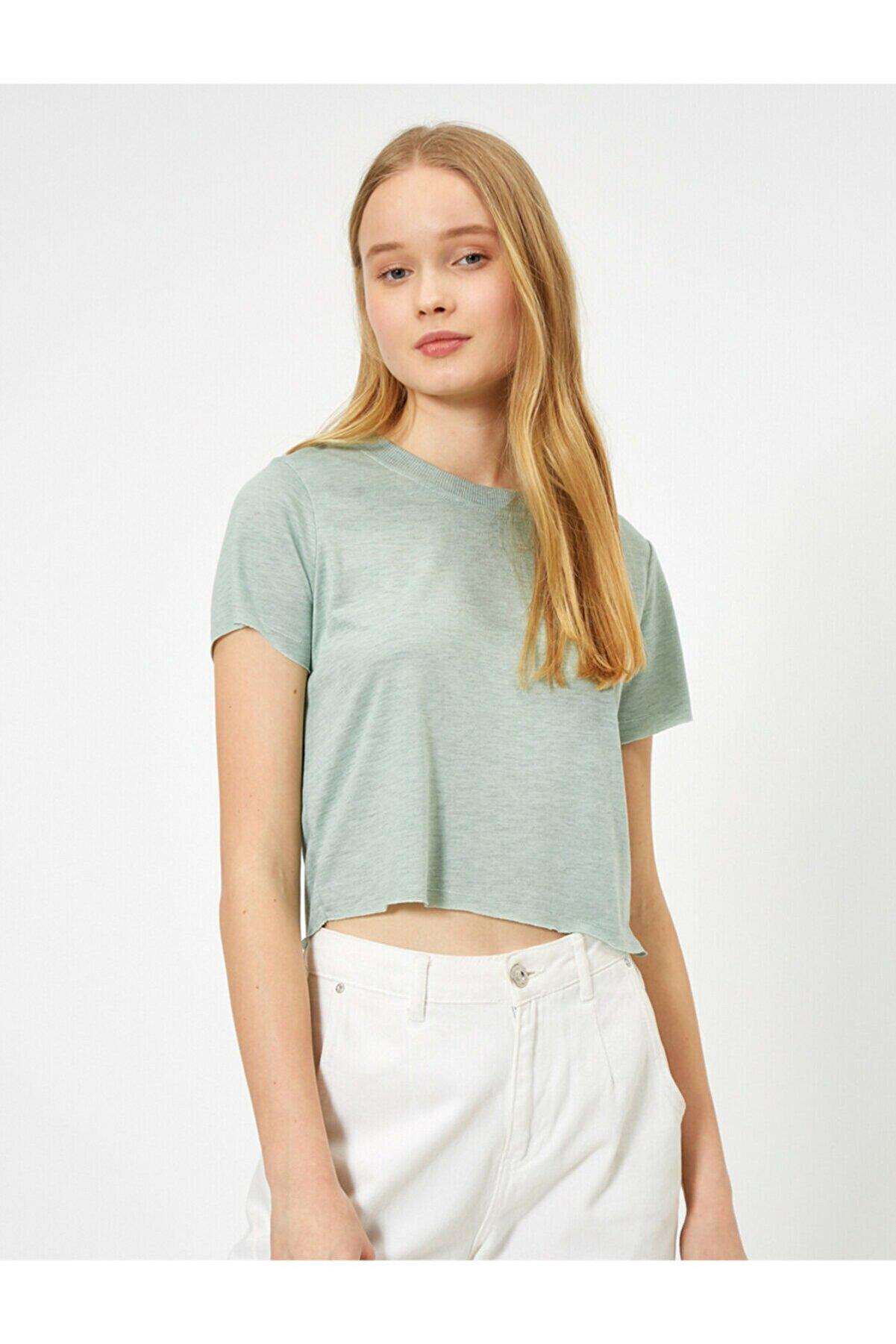 Koton Düz T-shirt