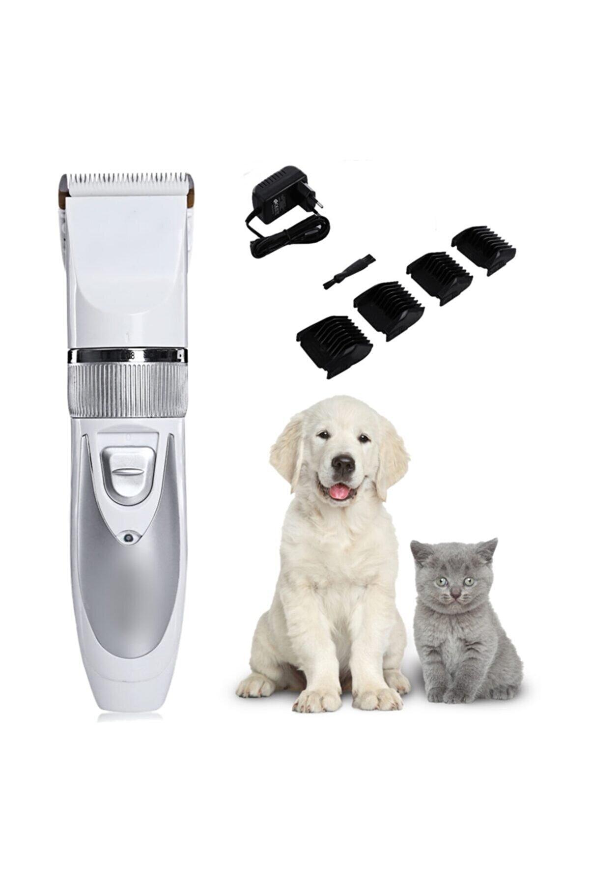 yopigo Çift Bataryalı Evcil Hayvan Tüy Kesme Kedi Köpek Traş Tıraş Makinesi Seti