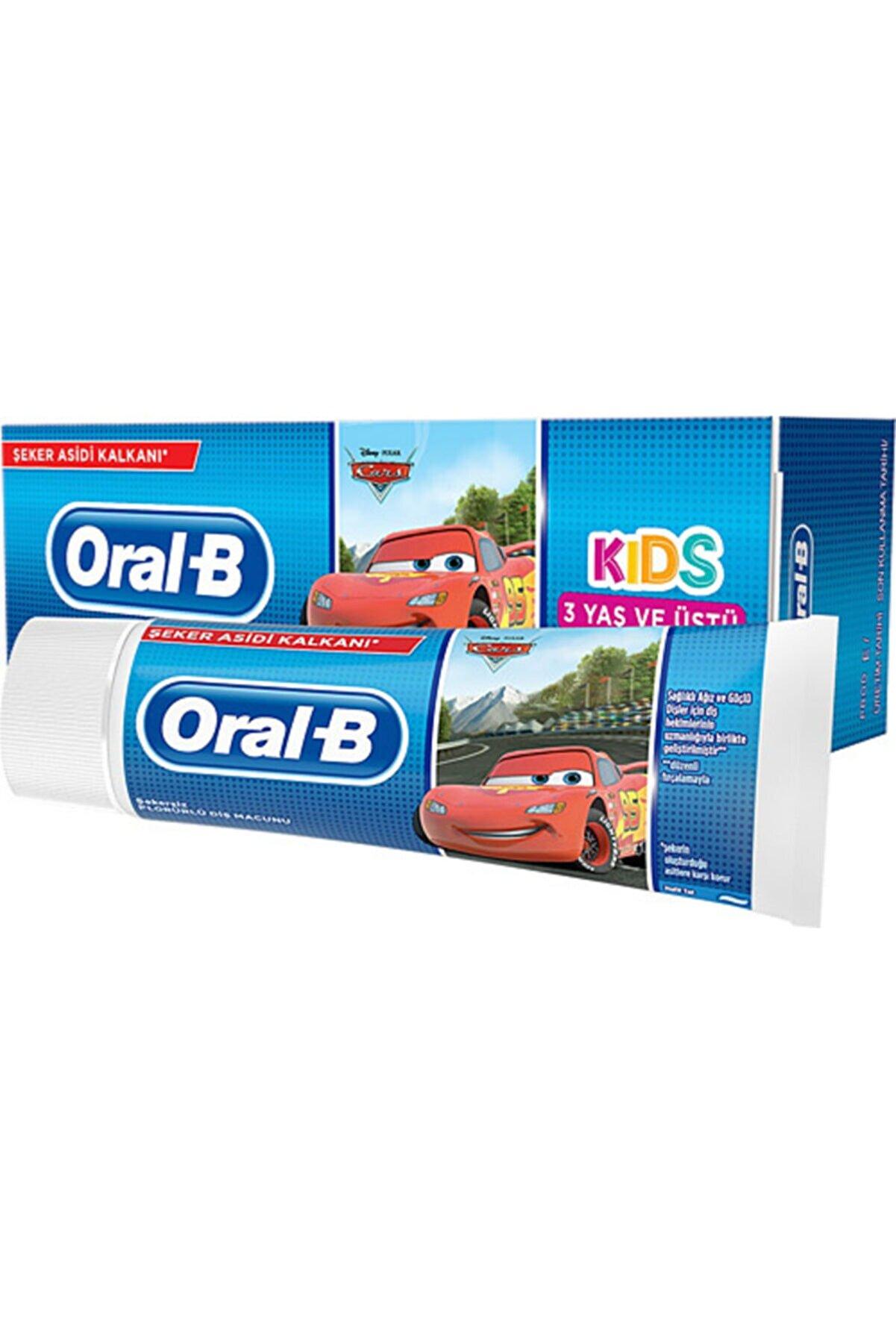 Oral-B Oral B Car Çocuk Diş Macunu 75 Ml 3 Yaş Ve Üstü