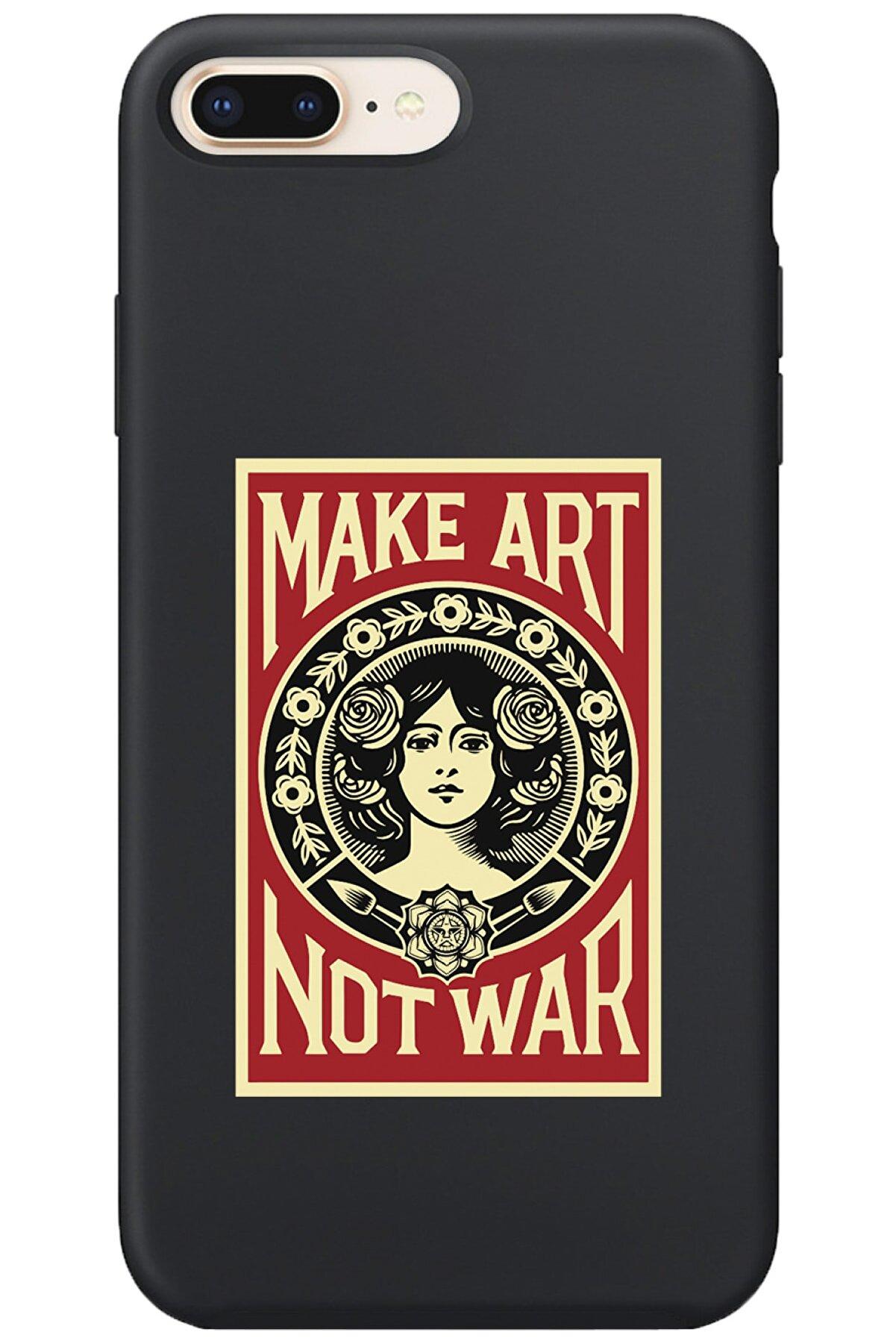 shoptocase Iphone 7 Plus Lansman Make Art Desenli Telefon Kılıfı