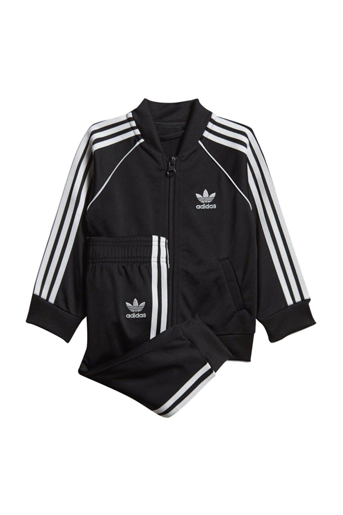 adidas Superstar Bebek Siyah Eşofman Takımı Dv2820