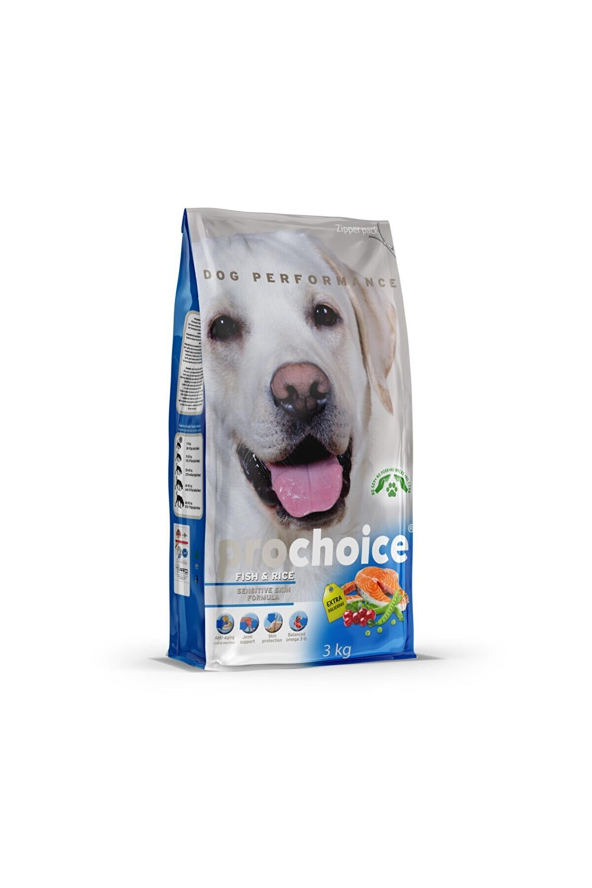 Pro Choice Balıklı Hassas Köpek Maması 3 kg