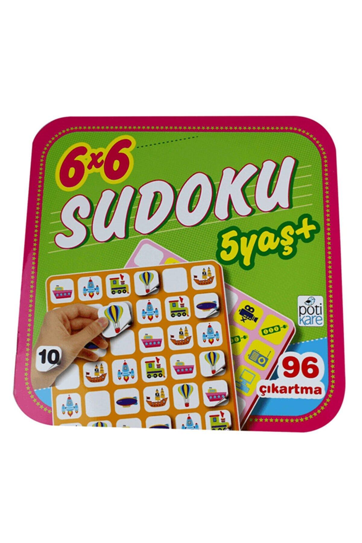 Pötikare Yayıncılık 6x6 Sudoku 10 5+ Yaş