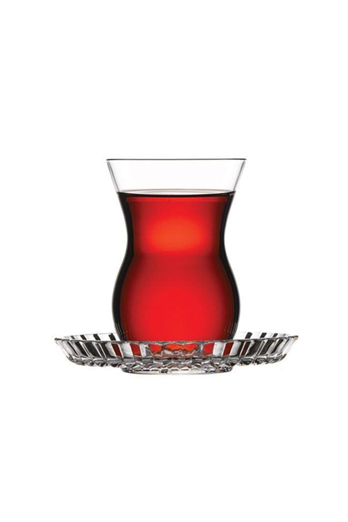 Paşabahçe Nude Beykoz 6'lı Çay Seti