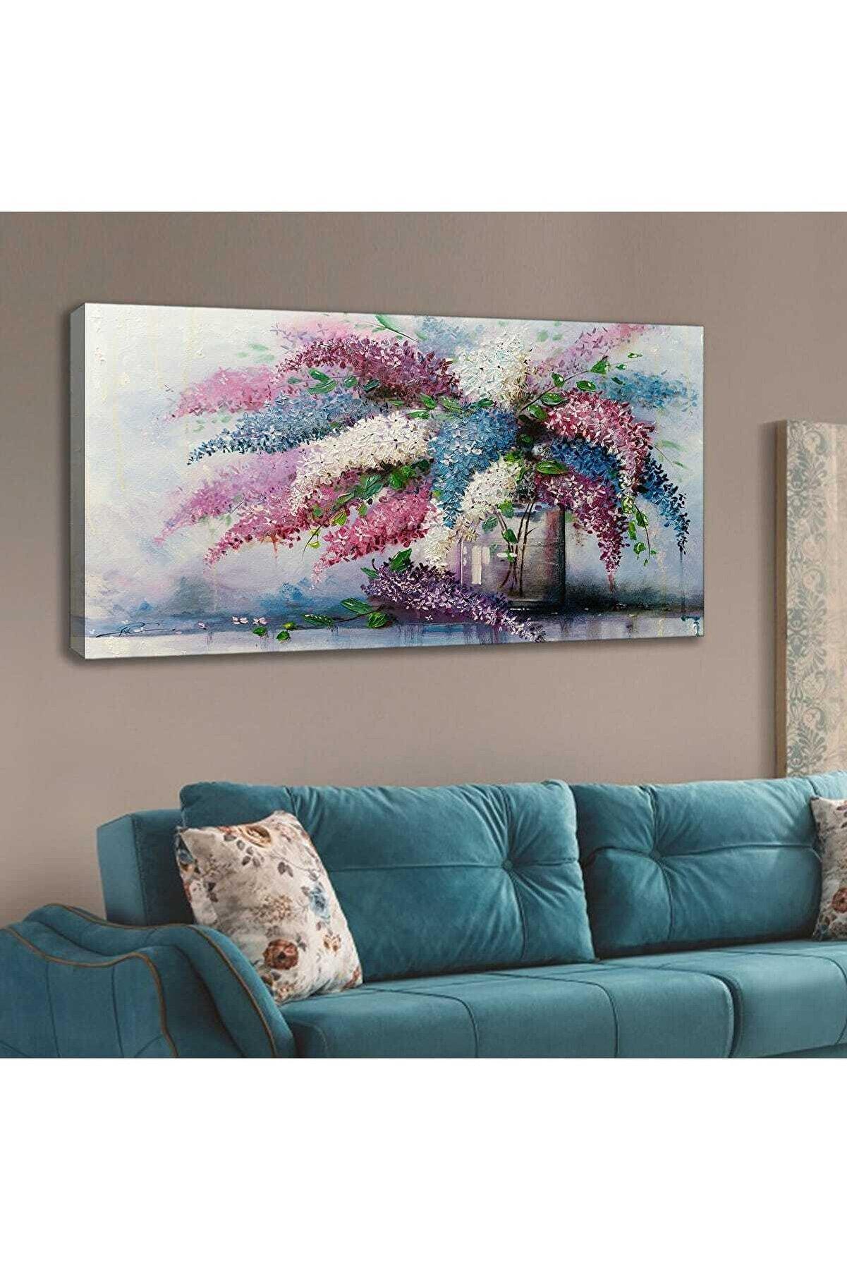 Lora Stil 120x60 Cm Kanvas Tablo