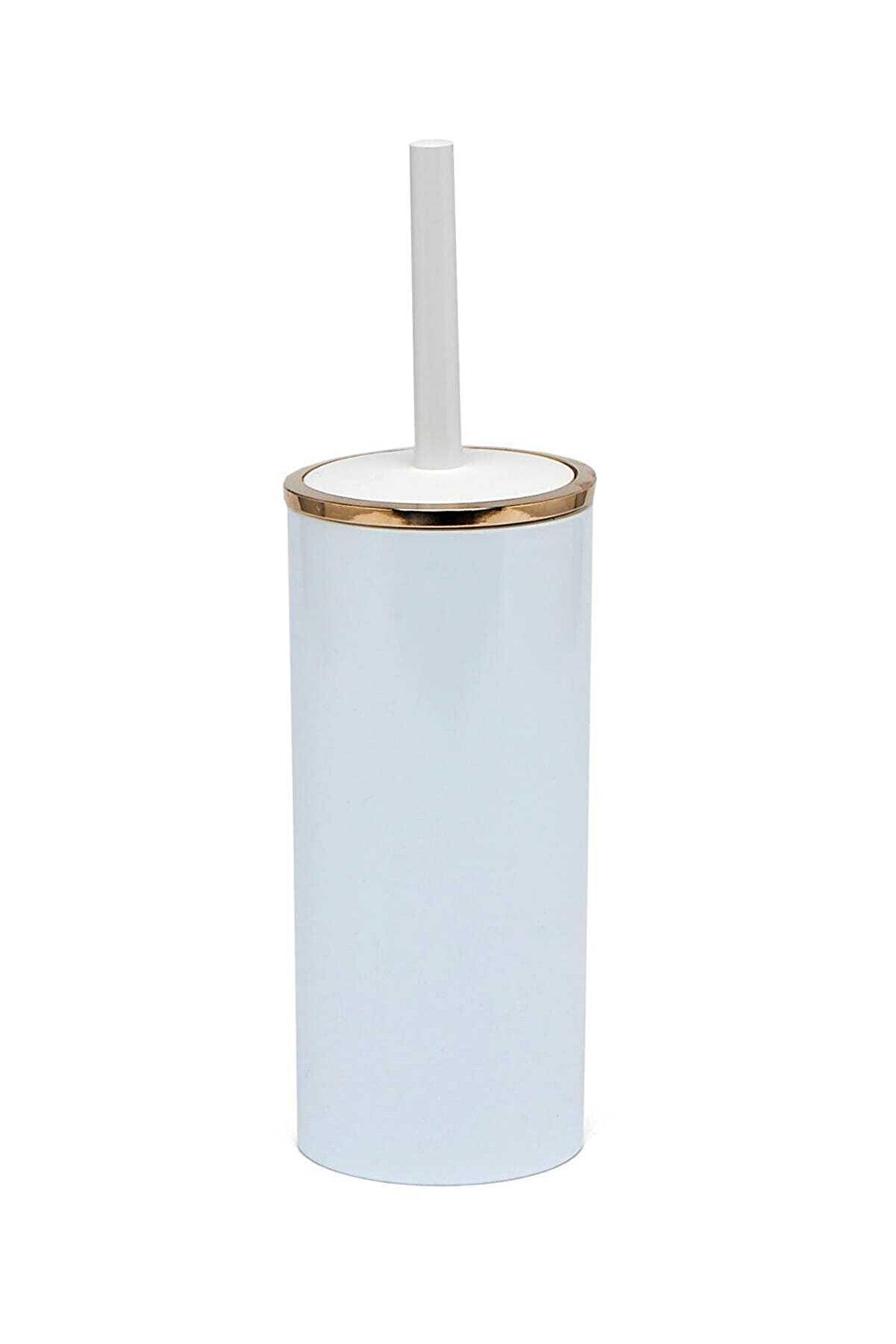 Prima Nova Beyaz Altın Renk Lenox Tuvalet Fırçası