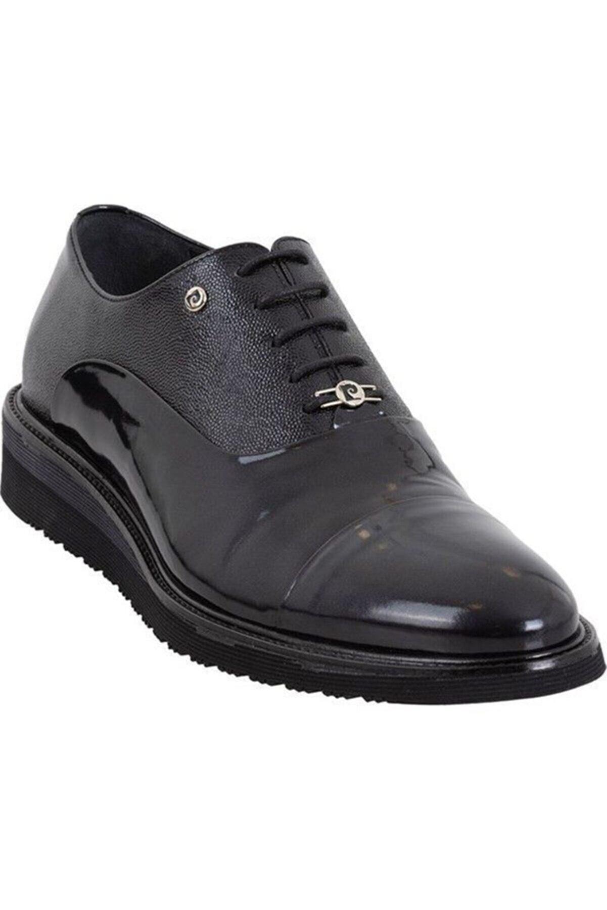 Pierre Cardin Erkek Hakiki Rugan Deri Eva Taban  Klasik Ayakkabı
