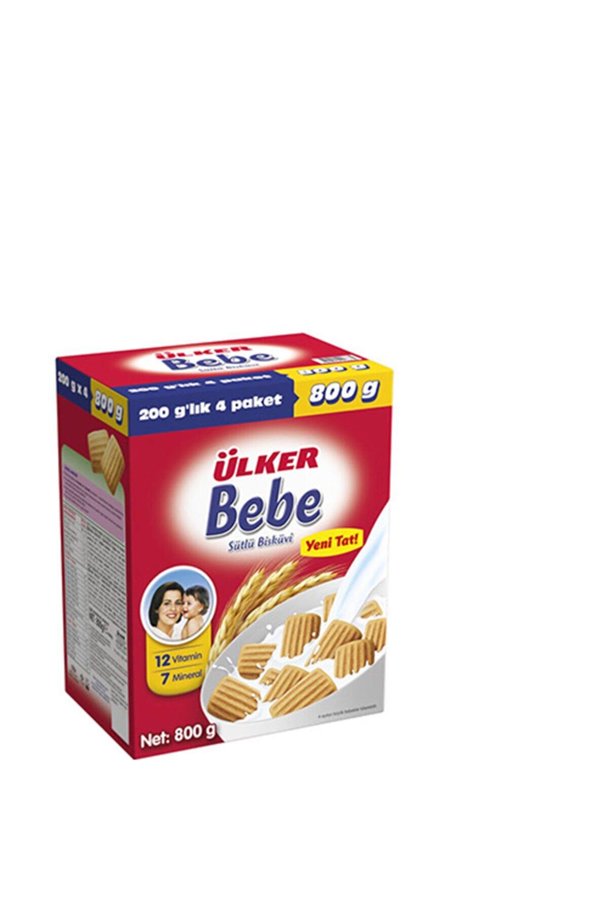 Ülker Bebe Bisküvisi 800grx2adet