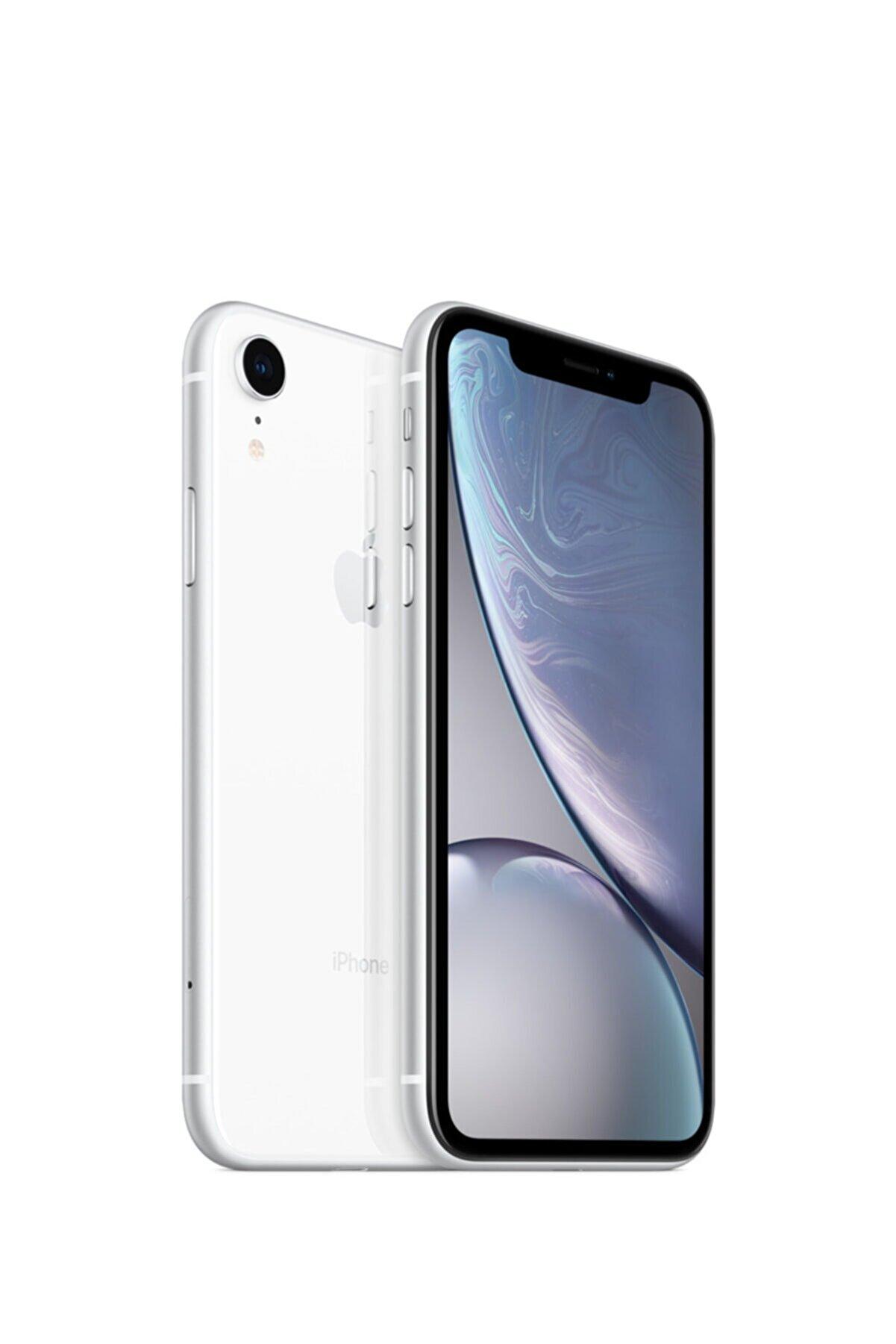 Apple iPhone XR 64GB Beyaz Cep Telefonu (Apple Türkiye Garantili) Aksesuarsız Kutu