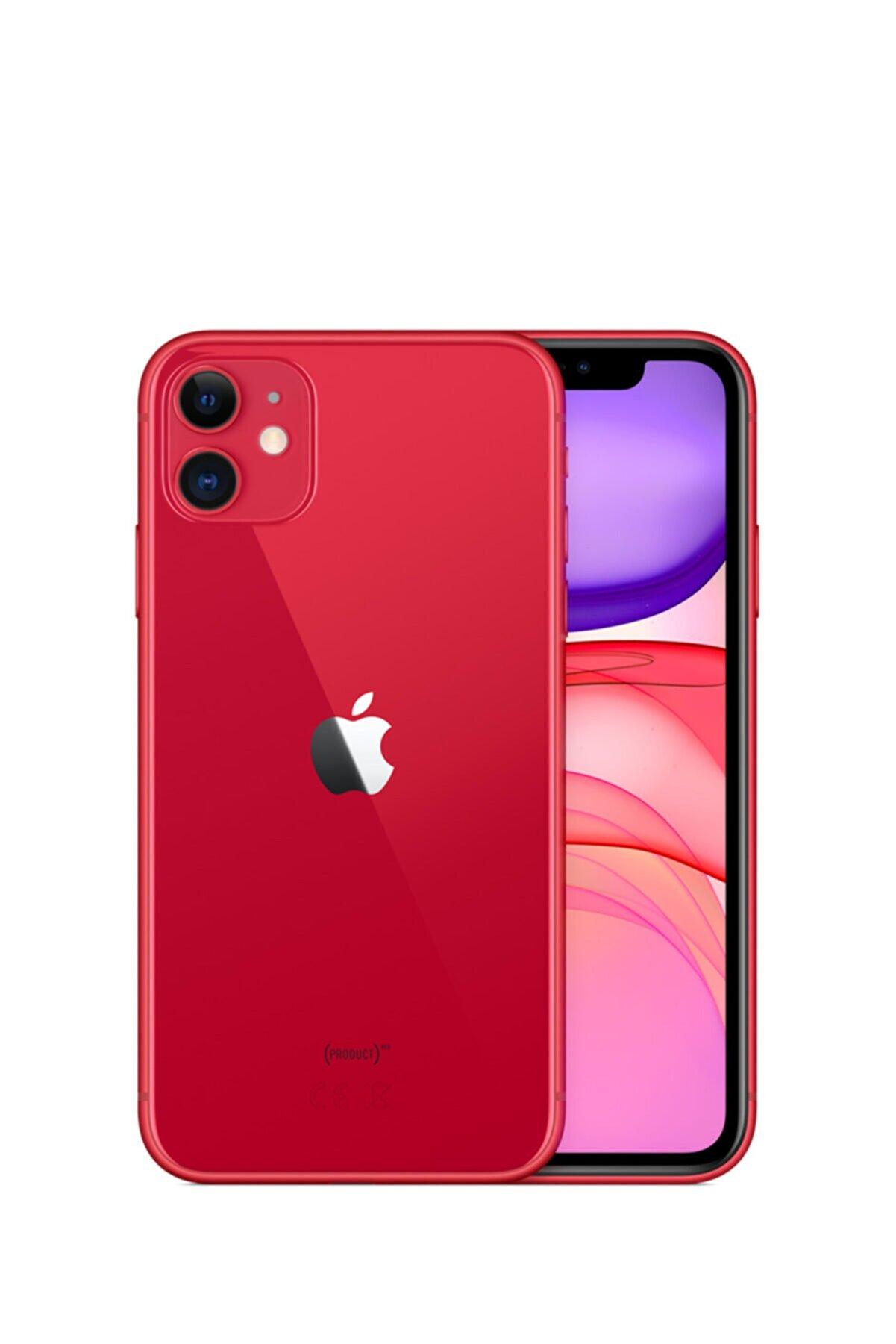 Apple iPhone 11 64GB (PRODUCT)RED Cep Telefonu (Apple Türkiye Garantili) Aksesuarsız Kutu