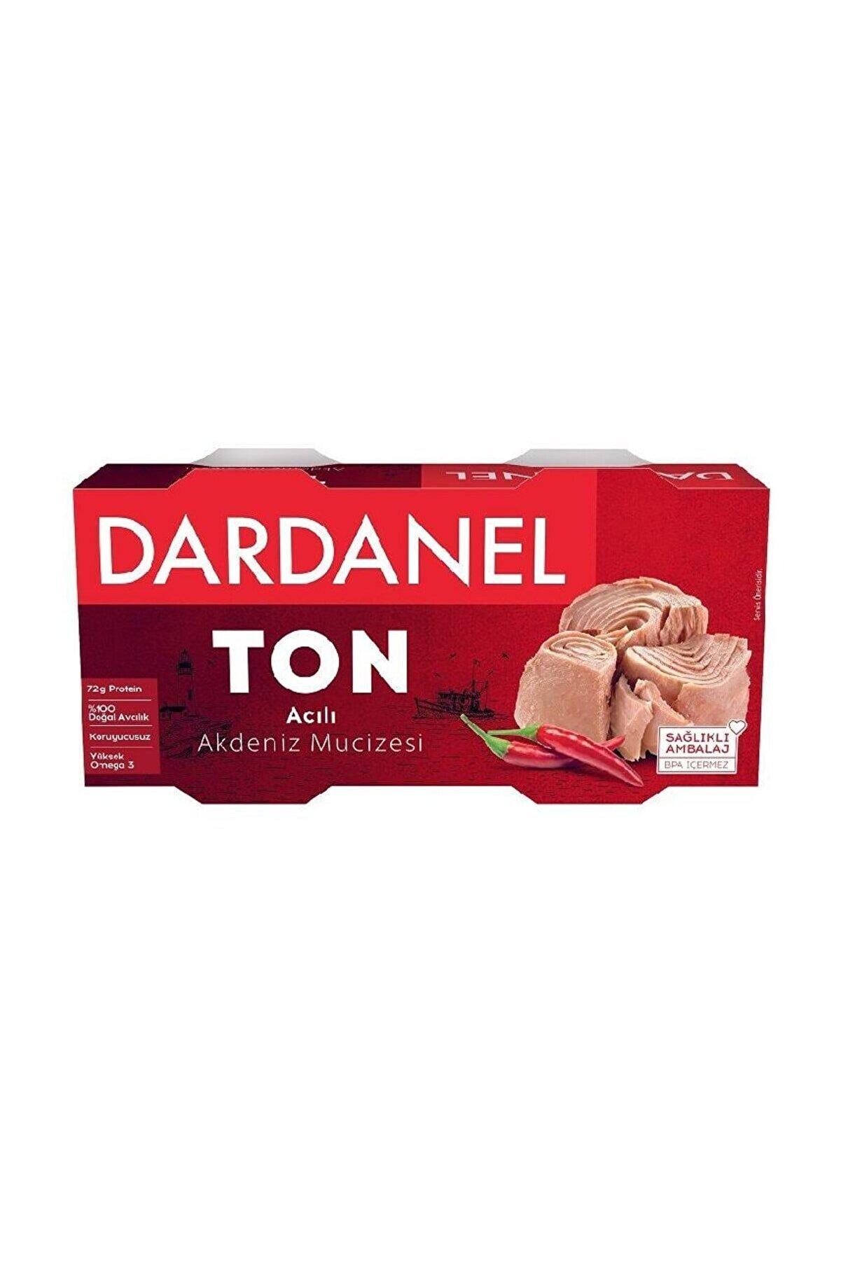 Dardanel Acılı Ton Balık 2x150 gr