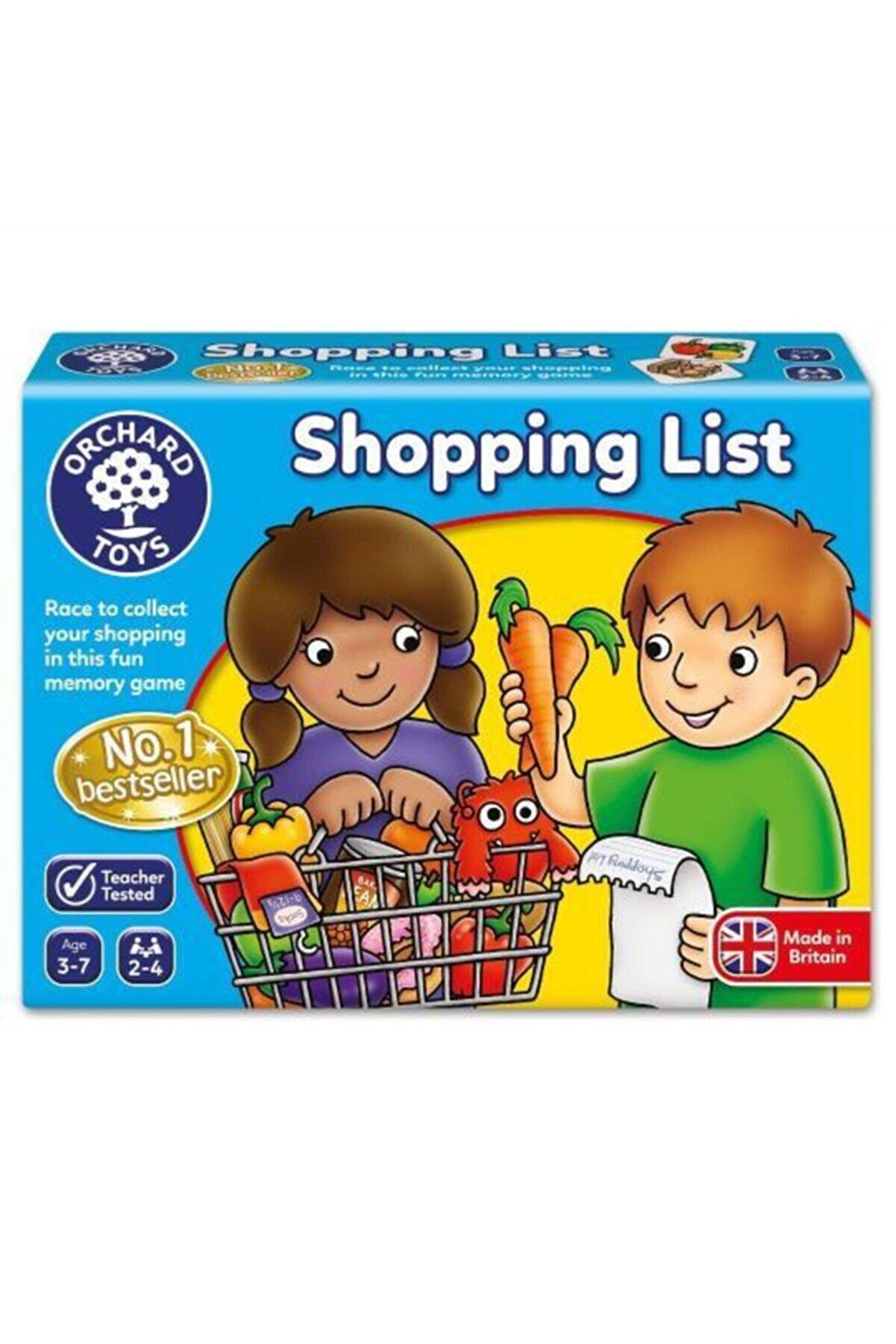 ORCHARD Shopping List 3 - 7 Alışveriş Listesi Oyunu