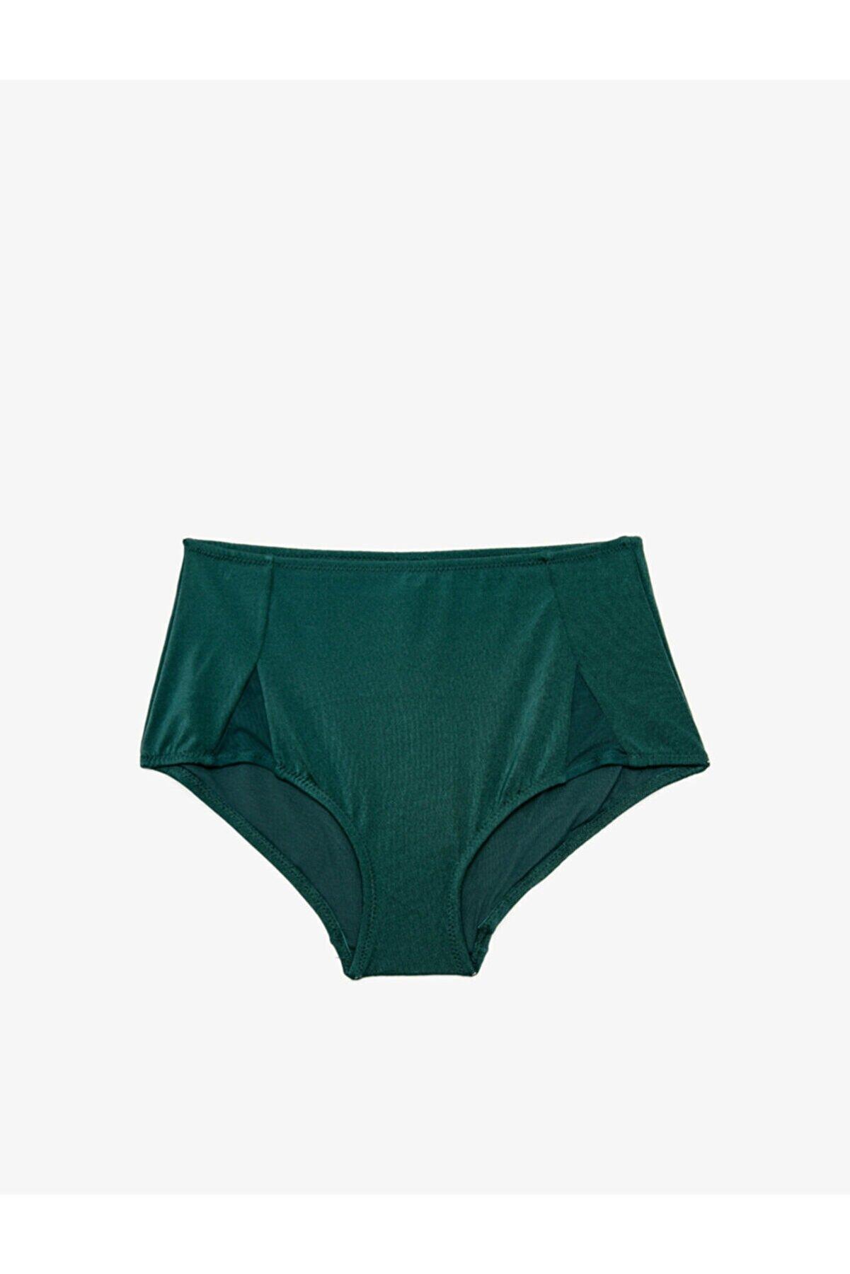 Koton Kadın Koyu Yeşil Bikini Altı