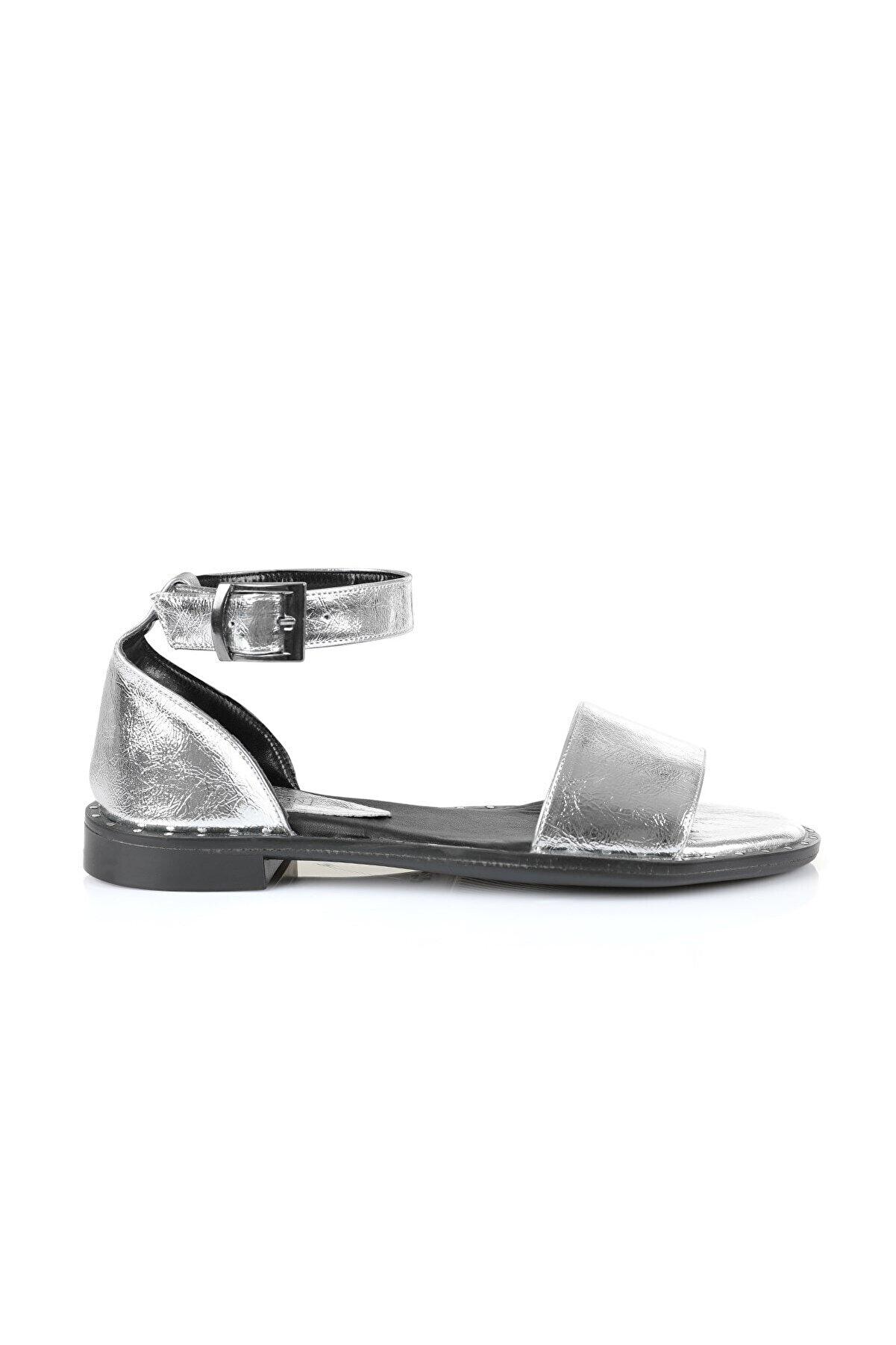Oblavion Kadın Silver Sandalet