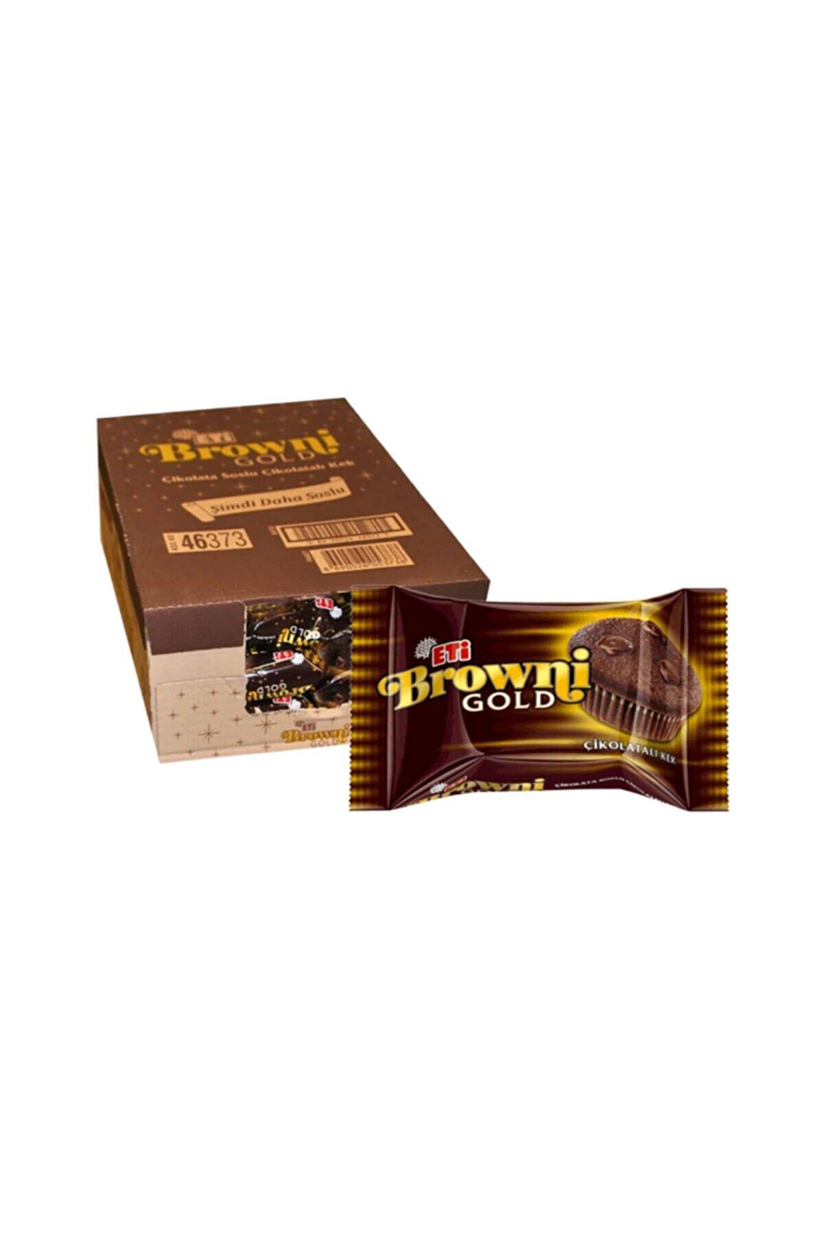 Eti Browni Gold Çikolatalı Kek / 24 Adet / 45 Gr