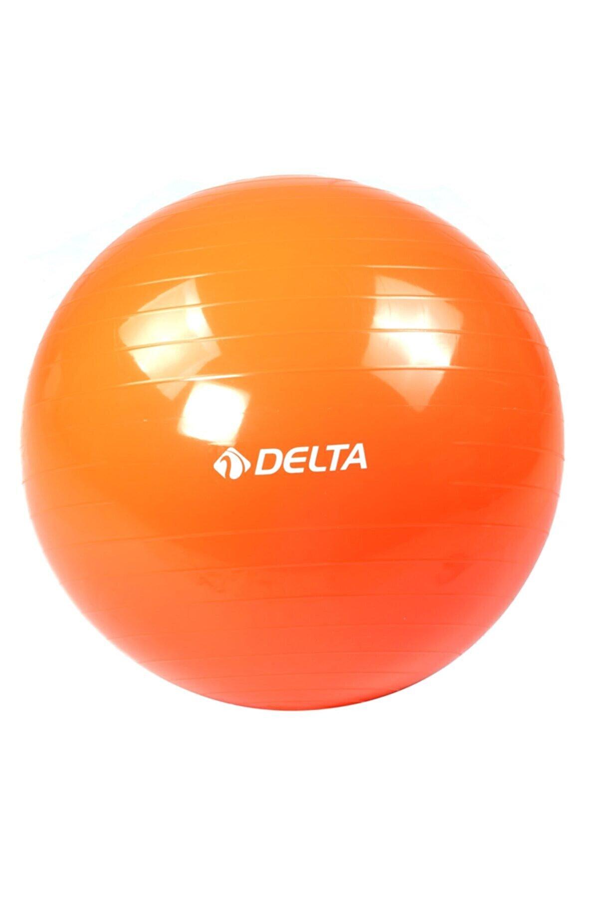 Delta Turuncu  Dura Strong Deluxe Pilates Topu 55cm