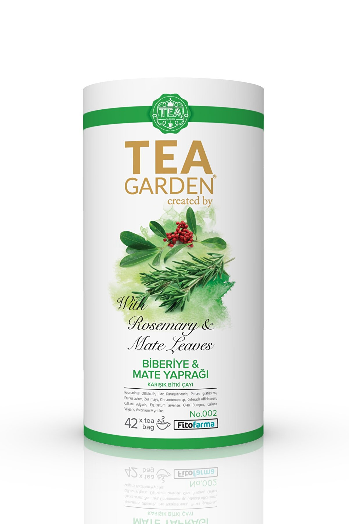 TeaGarden Tea Garden Biberiye&mate Yaprağı Çayı