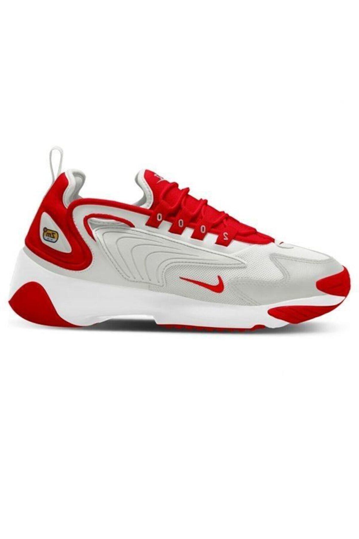 Nike Erkek Kırmızı Gri Zoom 2k Spor Ayakkabı Ao0269-012