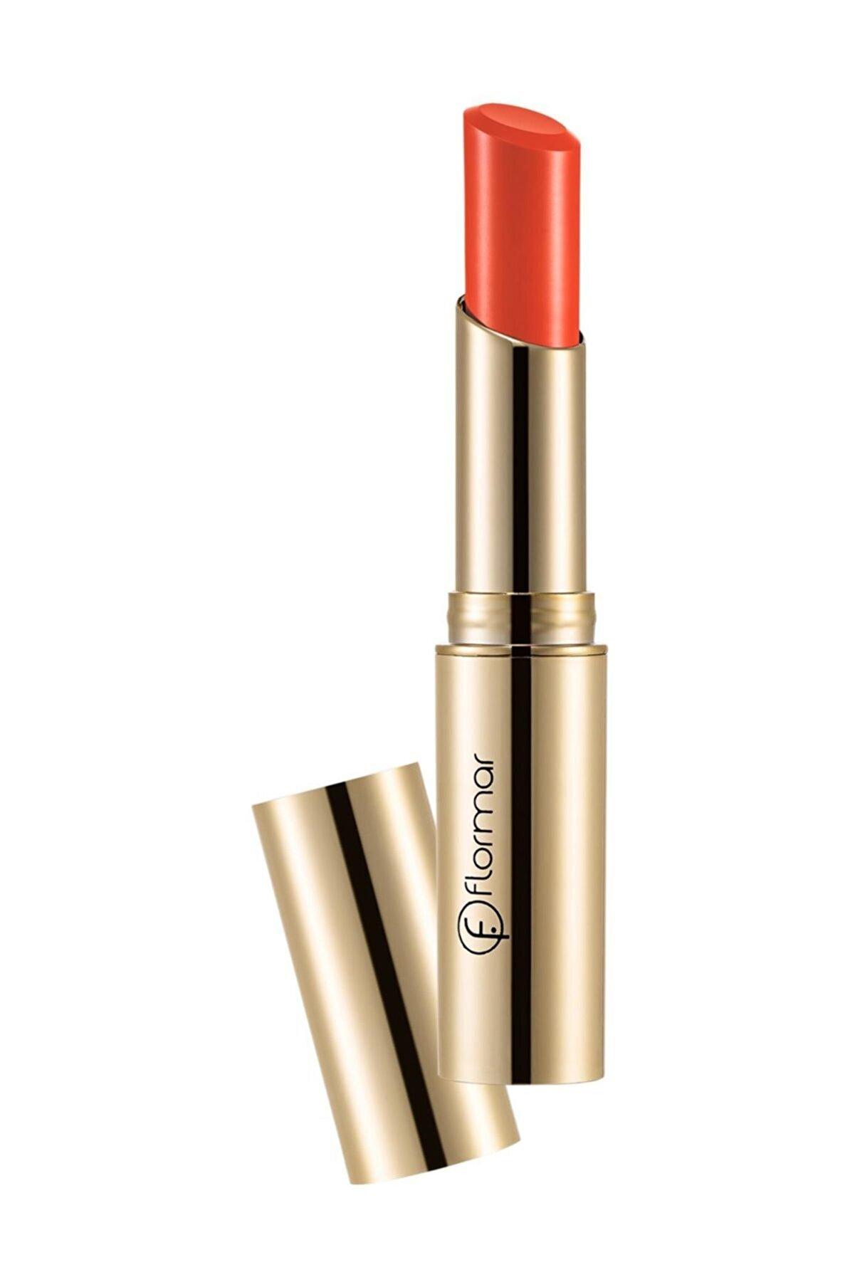 Flormar Deluxe Cashmere Lipstick Stylo Mat Açık Kırmızı Ruj DC22 8690604184477