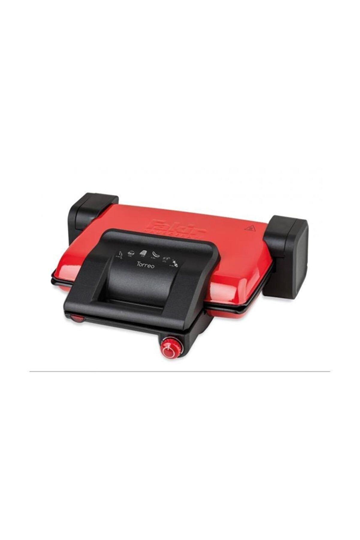 Fakir Torreo Izgara Ve Tost Makinesi Kırmızı