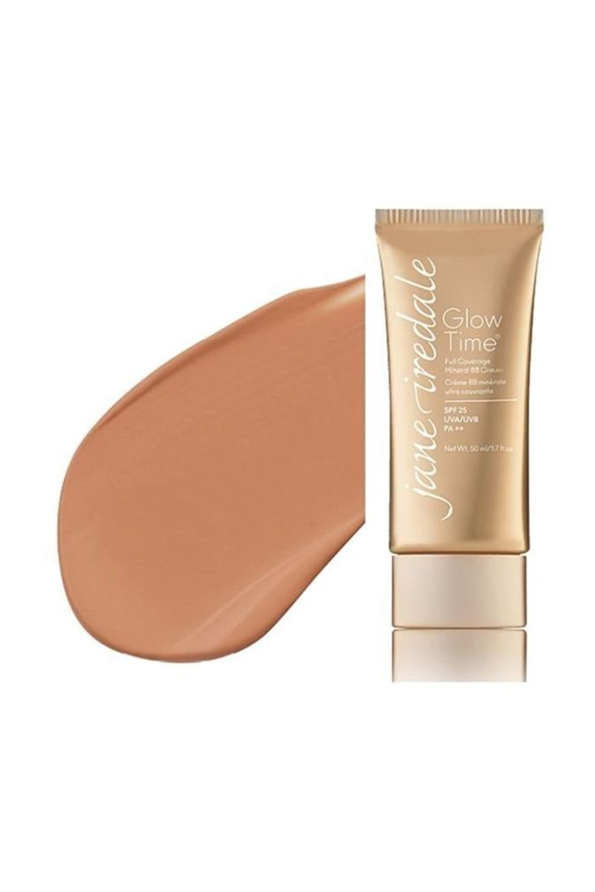 Jane Iredale Mineral BB Kapatıcı - Glow Time Full Covarage Mineral BB Cream Spf 25 BB8 50 ml 670959113313
